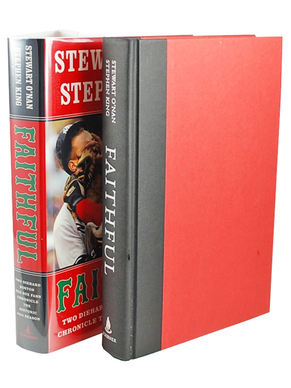 """Stephen King, Stewart O'Nan """"Faithful"""" Double Signed First Edition, First Printing 1st/1st [Fine/Fine]"""