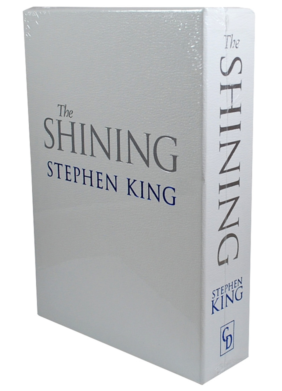 """Stephen King """"The Shining"""" Deluxe Limited Edition - Slipcased Oversized [Sealed]"""