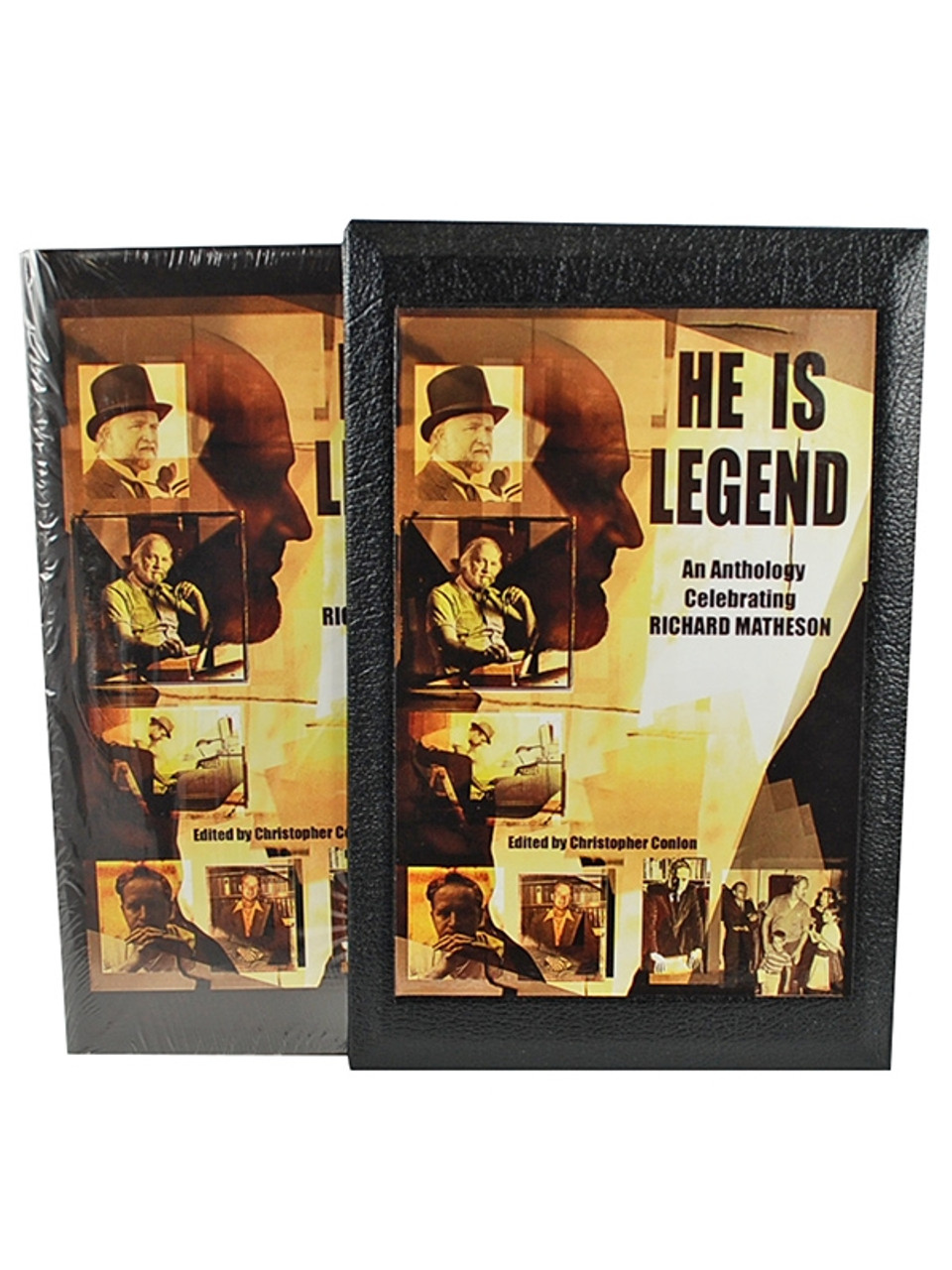 """He Is Legend"" Signed Limited Anthology, Stephen King, Joe Hill, and others Celebrating Richard Matheson"