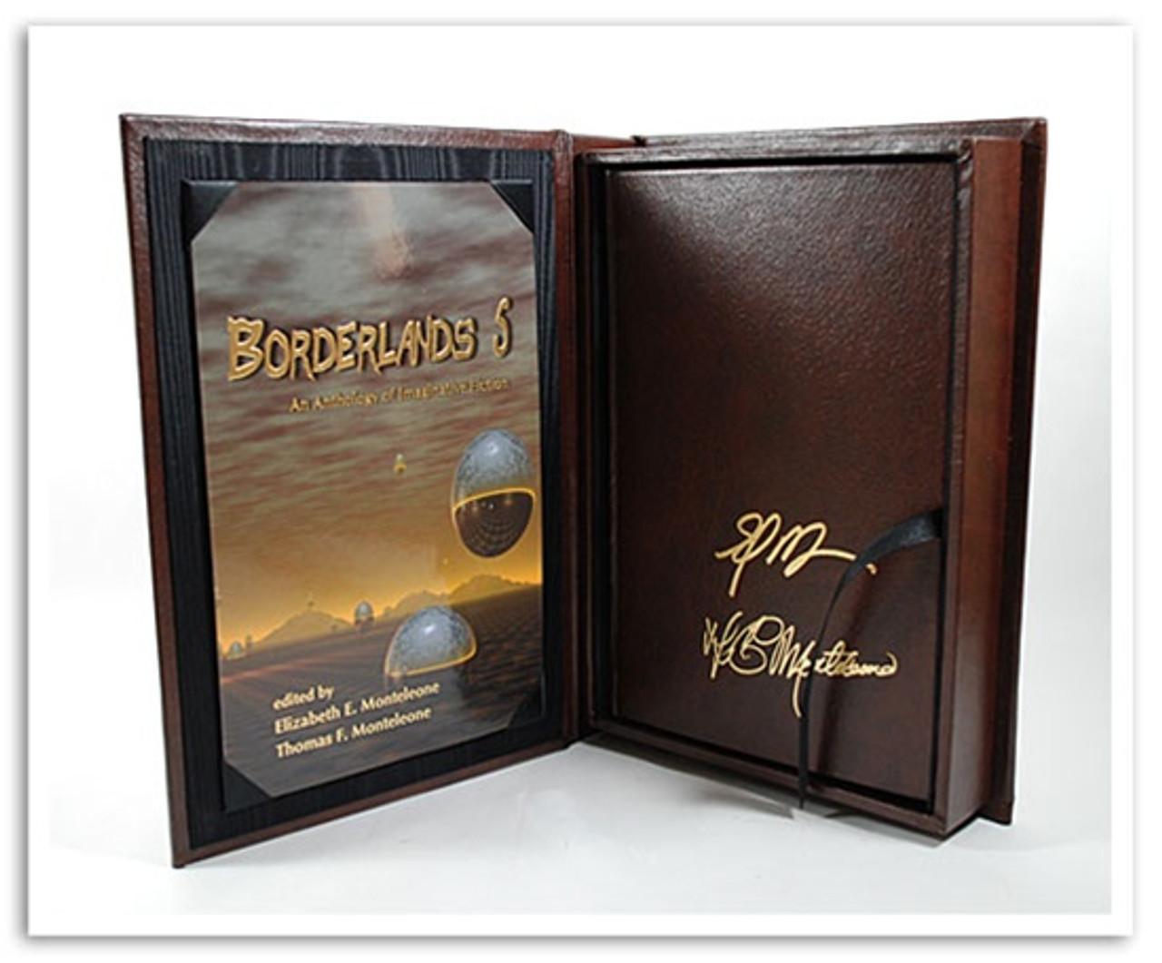 Borderlands 5 Stephen King Lettered Signed
