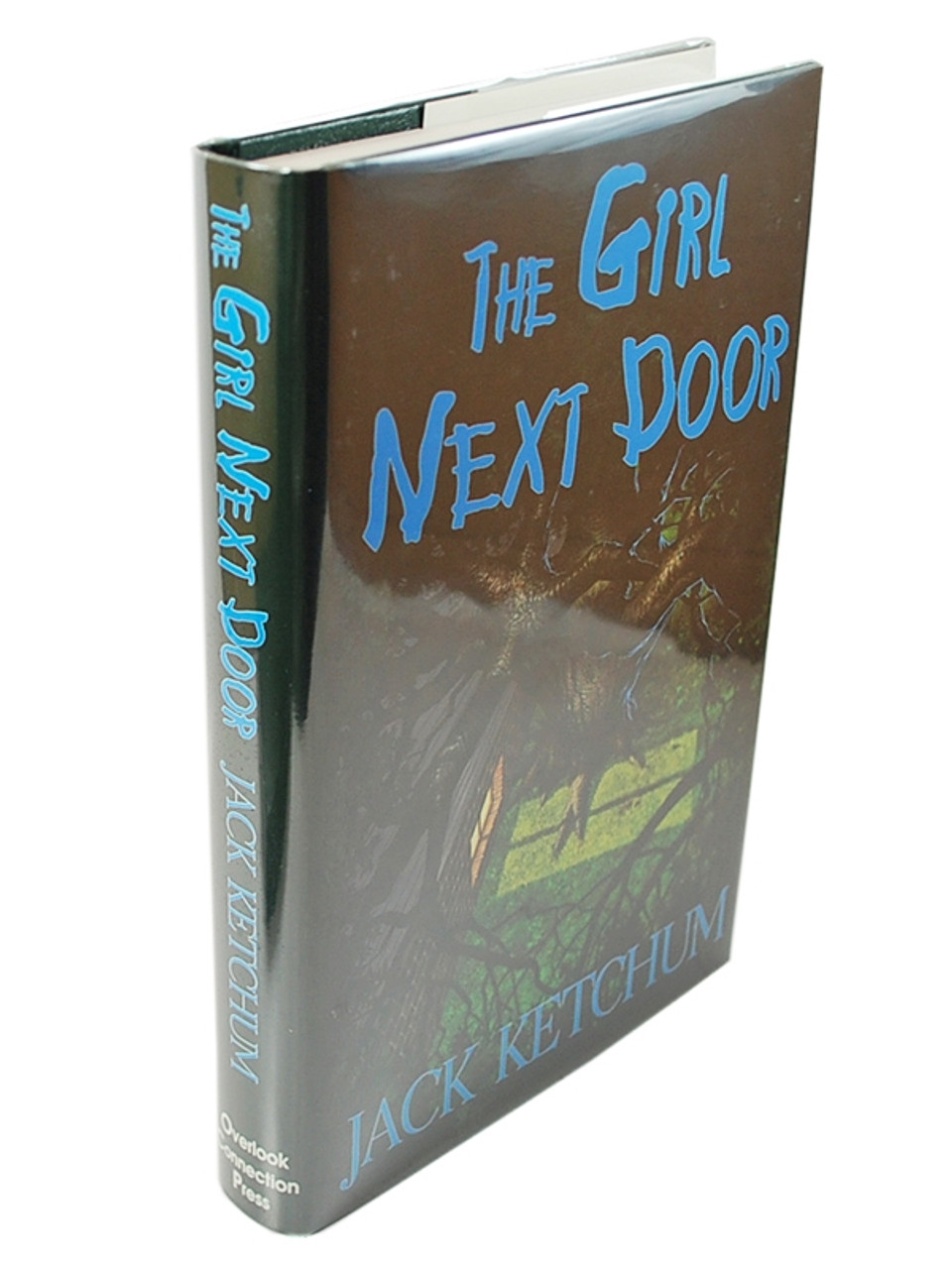 """Jack Ketchum  """"The Girl Next Door"""" Signed Limited First Edition No. 112 of only 500, Slipcased [Very Fine]"""