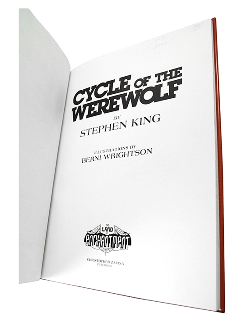"Stephen King ""Cycle of the Werewolf"" Signed Limited Deluxe Edition, #51of 100 w/Signed Sketch"