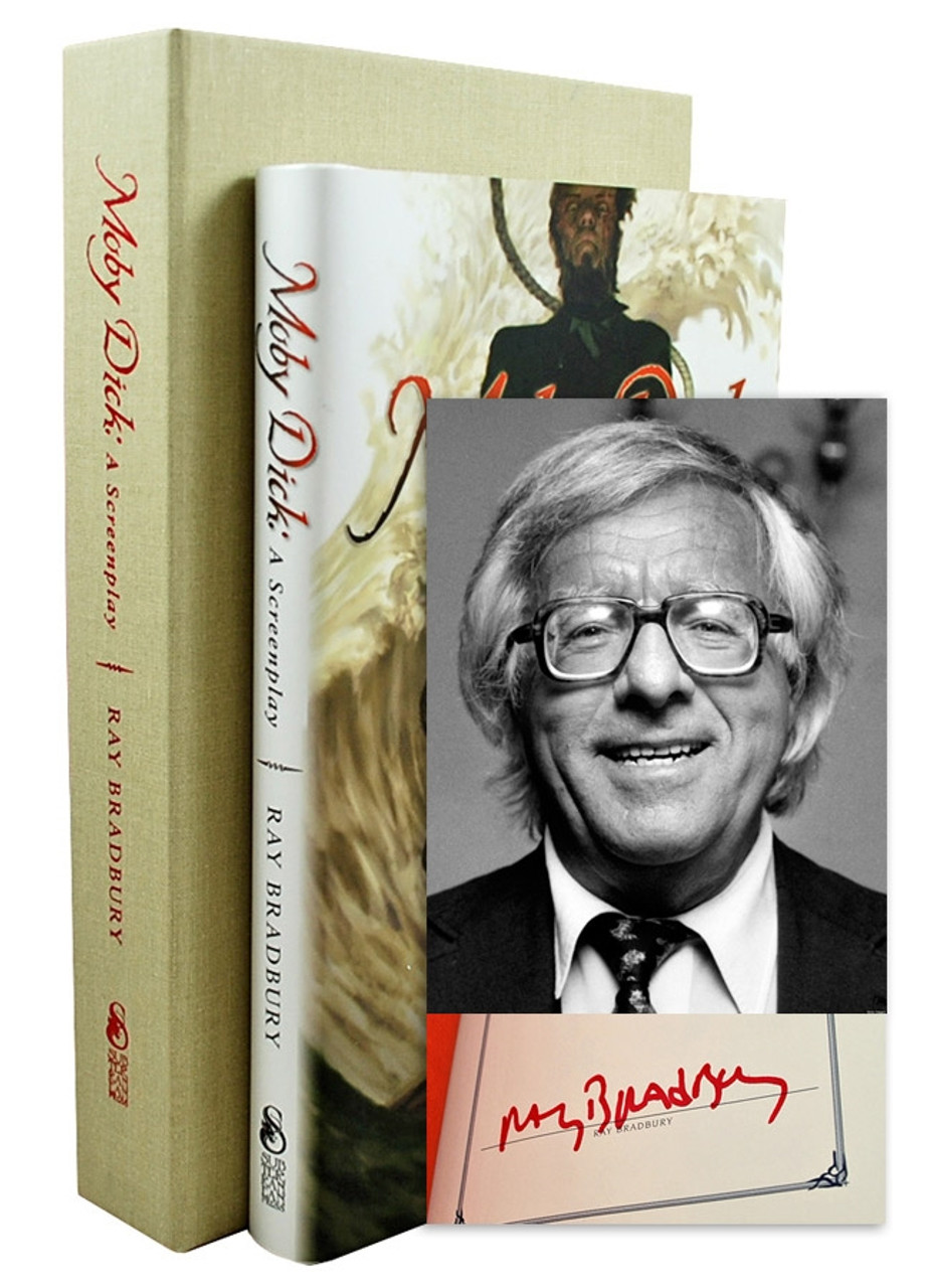 """Ray Bradbury """"Moby Dick"""" Deluxe Signed Lettered Edition, """"M"""" of 26 in tray-case [Very Fine]"""