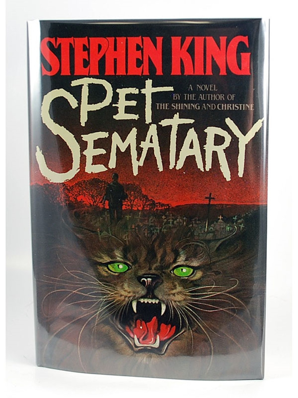 Stephen King Pet Sematary Signed First Edition
