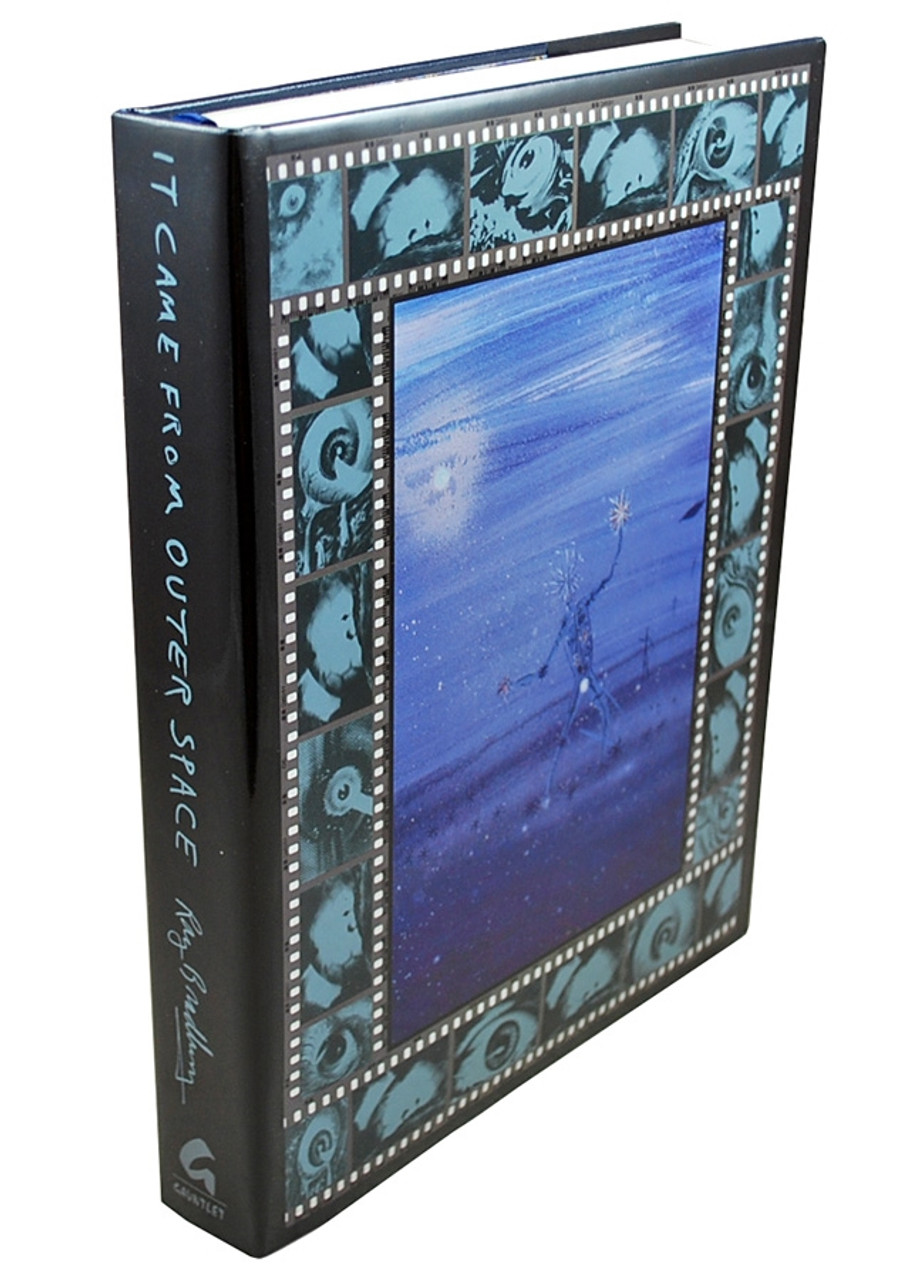 """Ray Bradbury """"It Came From Outer Space"""" Deluxe Signed Lettered Edition, """"J"""" of 52 in slipcase [Very Fine]"""