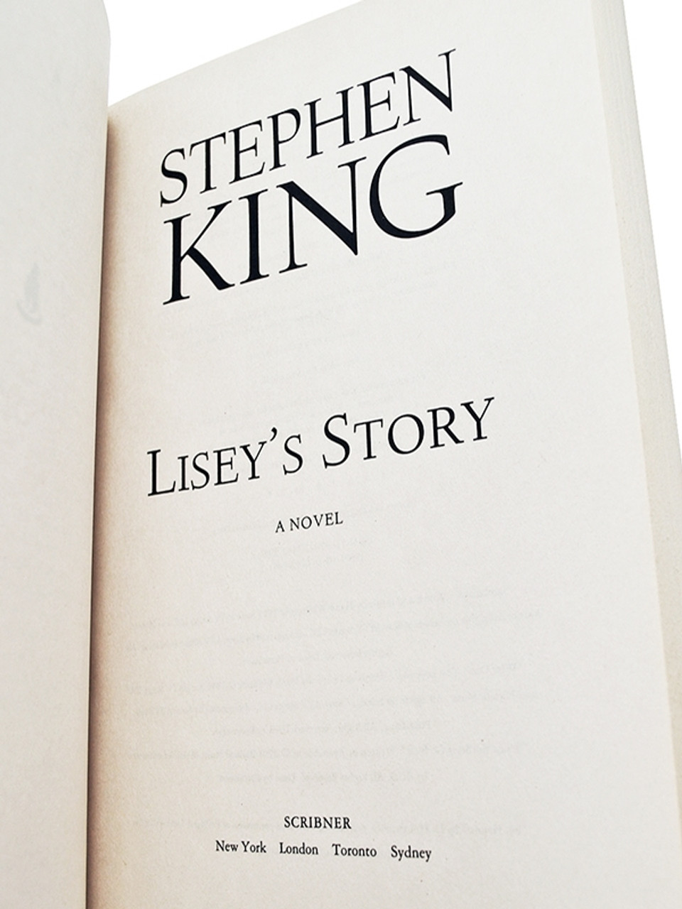 """Stephen King """"Lisey's Story"""" Advanced Reader's Edition, Proof [Very Fine]"""