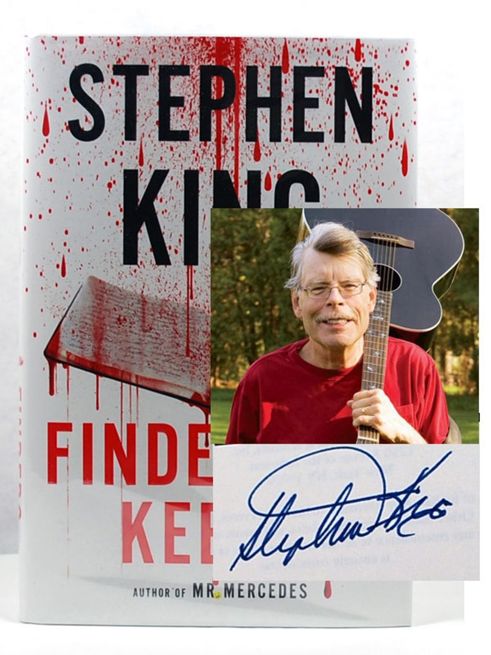 """Stephen King BILL HODGES TRILOGY Boxed Set w/Signed """"Finder's Keepers""""[Very Fine]"""
