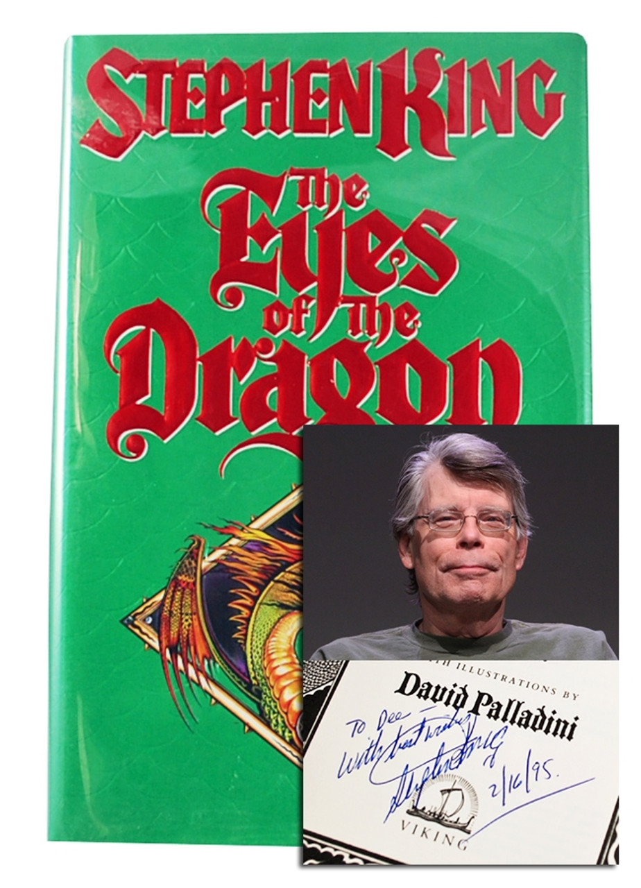 "Stephen King ""The Eyes of the Dragon"" Signed First Edition"