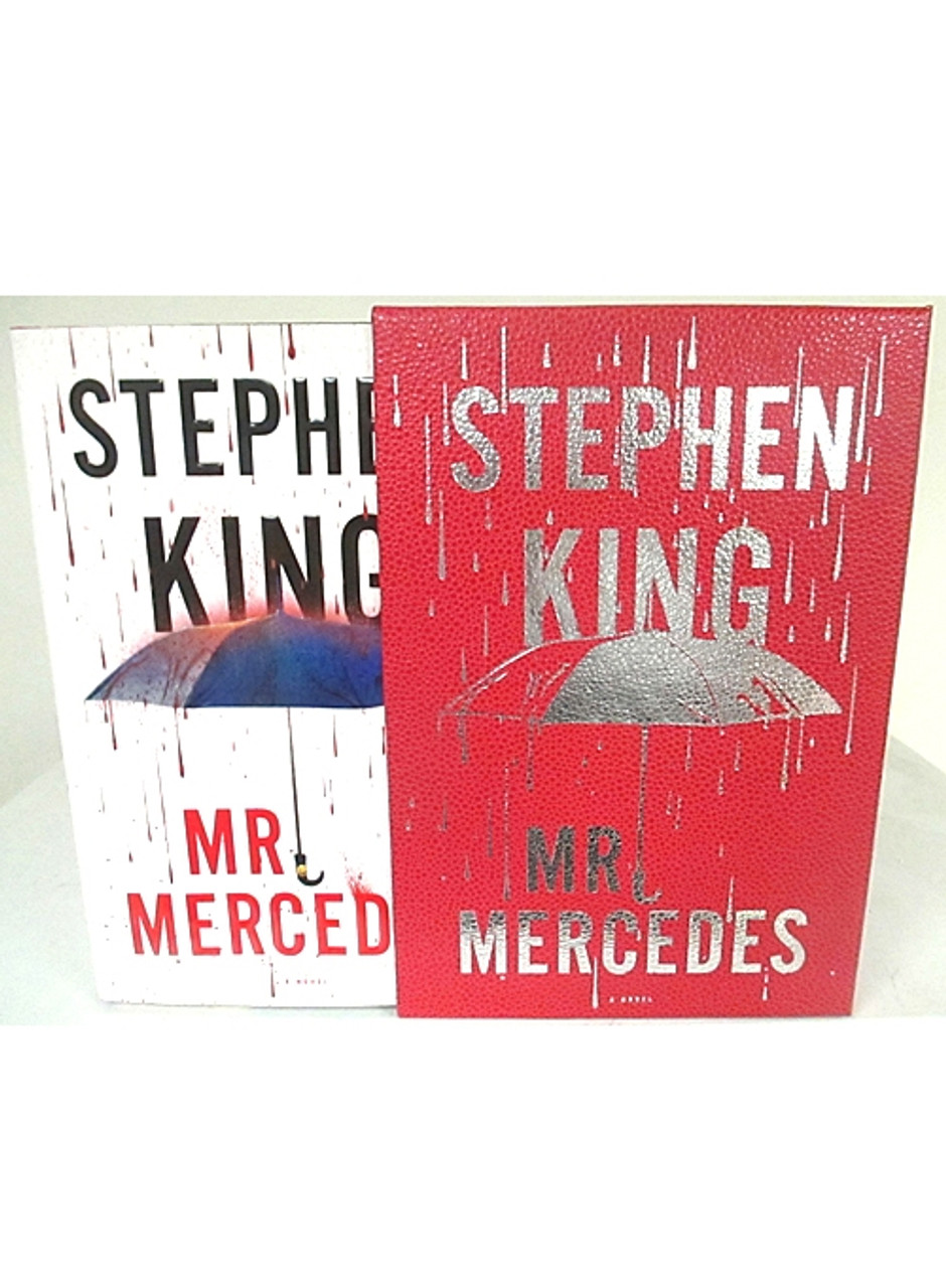 """Stephen King """"Mr. Mercedes"""" Signed First Edition 1st/1st w/Slipcase [Very Fine]"""