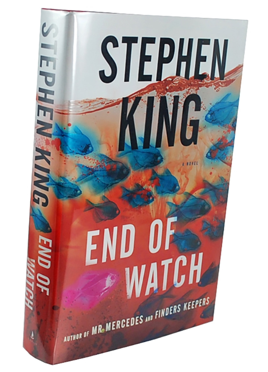 """Stephen King """"End Of Watch"""" Signed First Edition dj/HC [Very Fine/Very Fine]"""