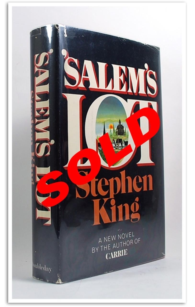 Stephen King Salem's Lot Centipede Press Signed