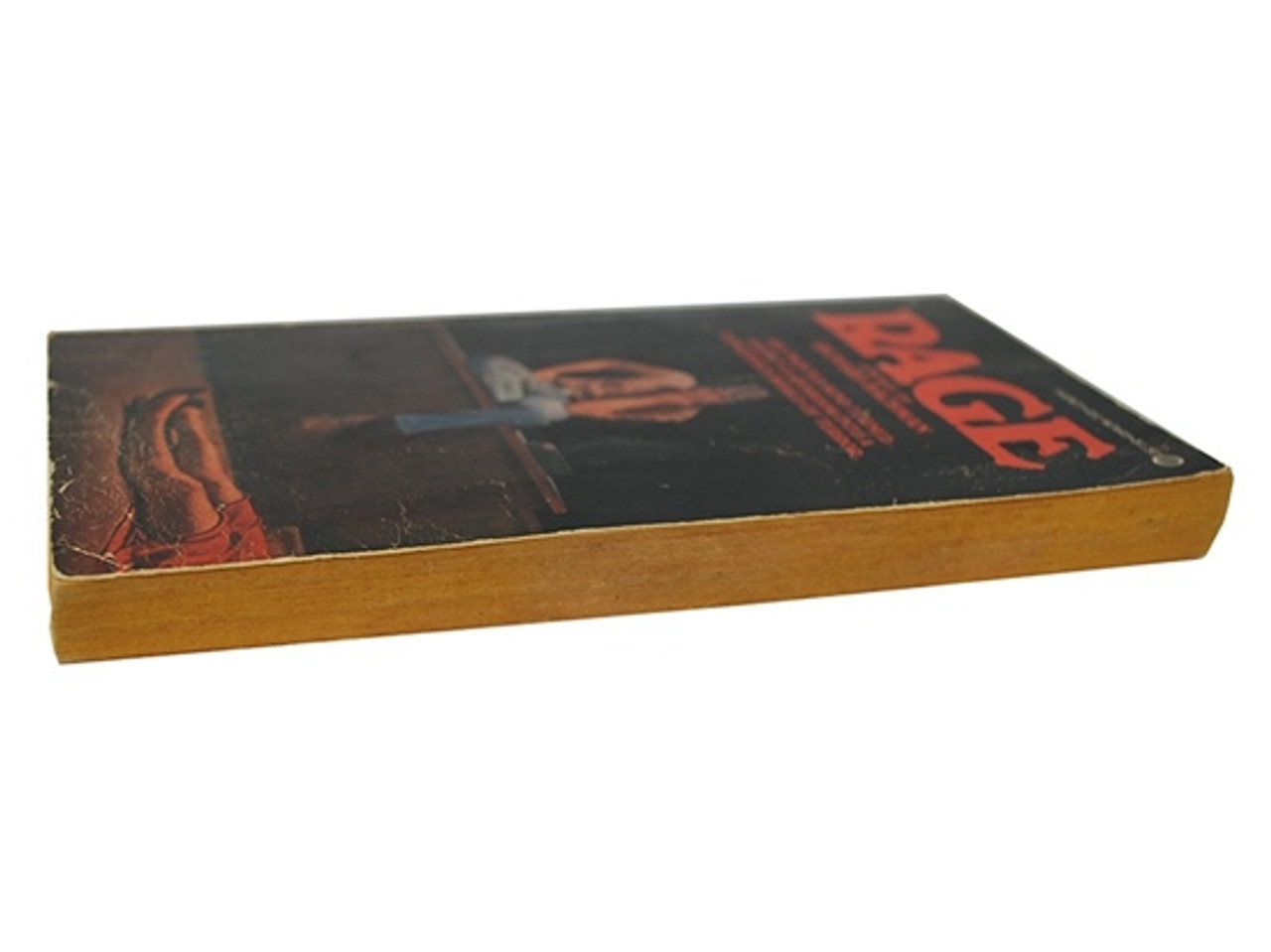 "Stephen King ""Rage"" First Edition, First Printing (writing at Richard Bachman)"