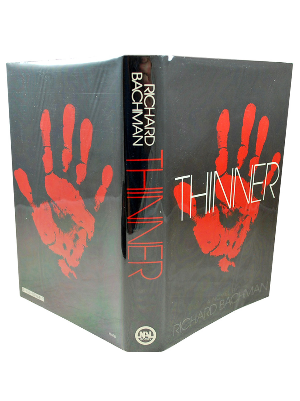 """Stephen King """"Thinner"""" First Edition, First Printing dj/HC  (writing as Richard Bachman) Slipcased [Archival Sleeve Protection]"""
