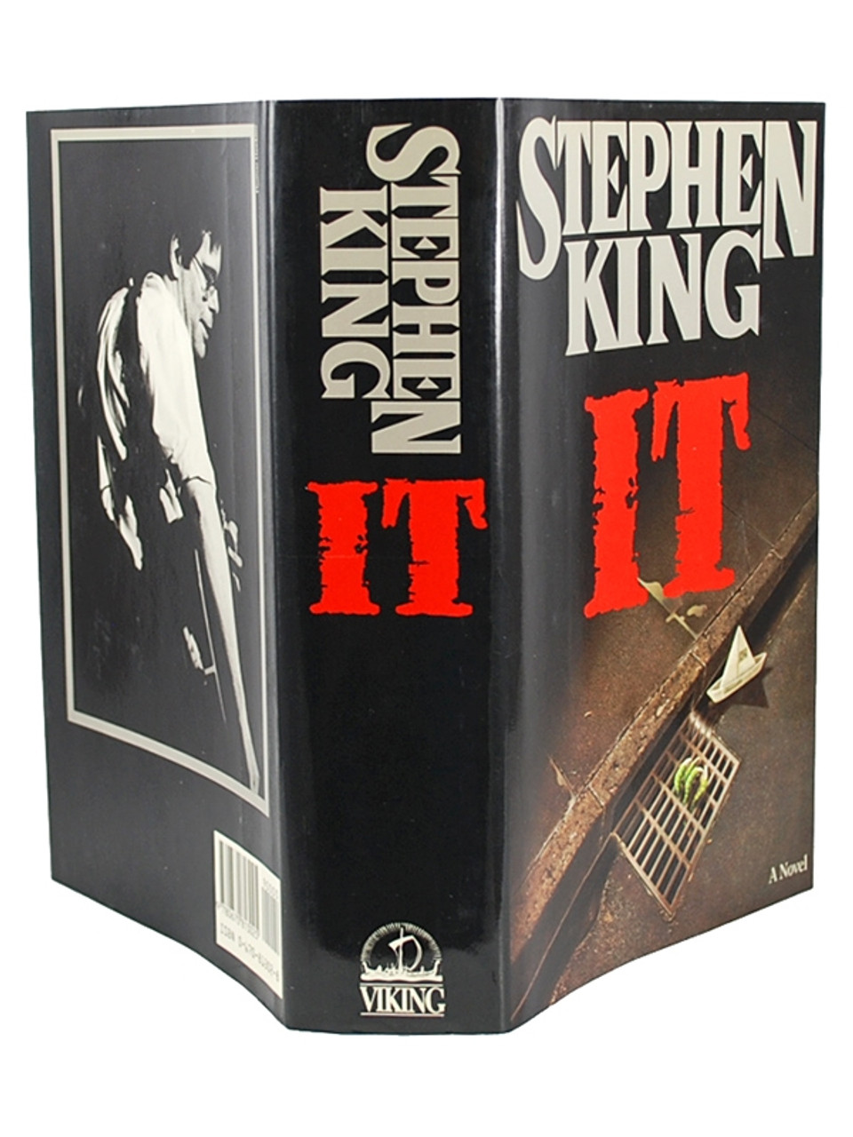 """Stephen King """"IT"""" Signed First Edition"""