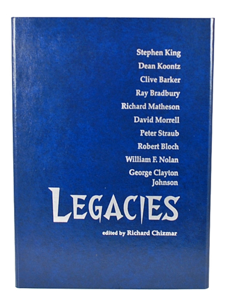 """Cemetery Dance """"Legacies"""" Signed Limited Edition of only 500 w/Slipcase [As New]"""