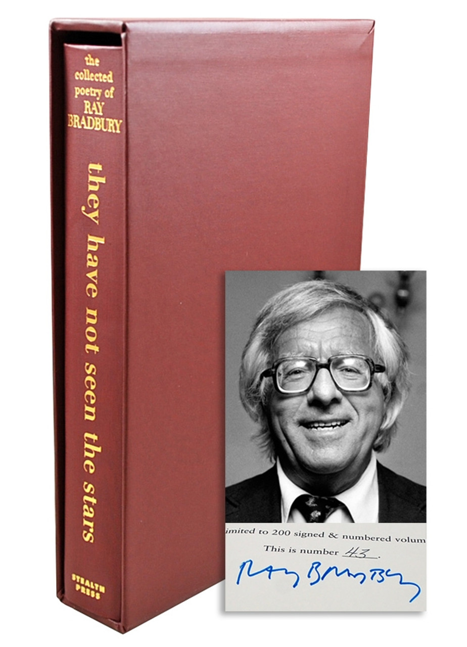 """Ray Bradbury """"They Have Not Seen the Stars"""" Signed Limited Edition, 43 of 200 in original box [Very Fine]"""