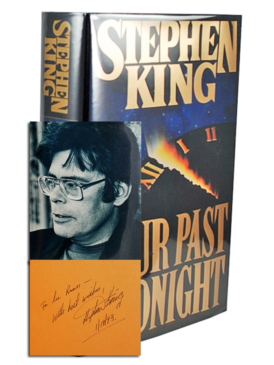 """Stephen King """"Four Past Midnight"""" Signed First Edition [Fine/Fine]"""