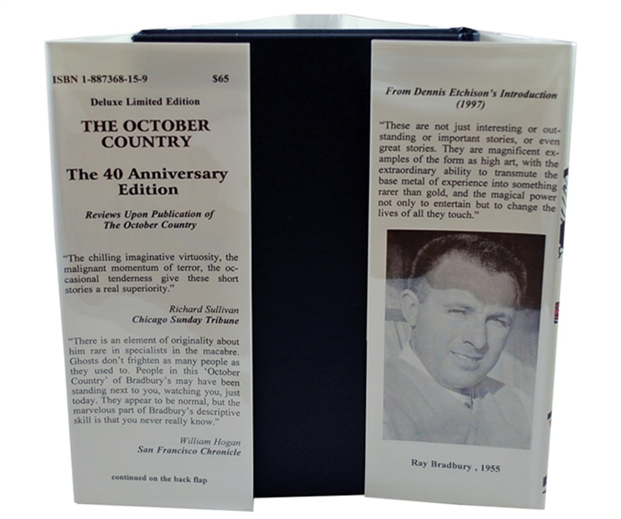 """Ray Bradbury """"The October Country - The 40th Anniversary Edition"""" Signed Limited Edition, 439 of 500 in slipcase [Very Fine]"""