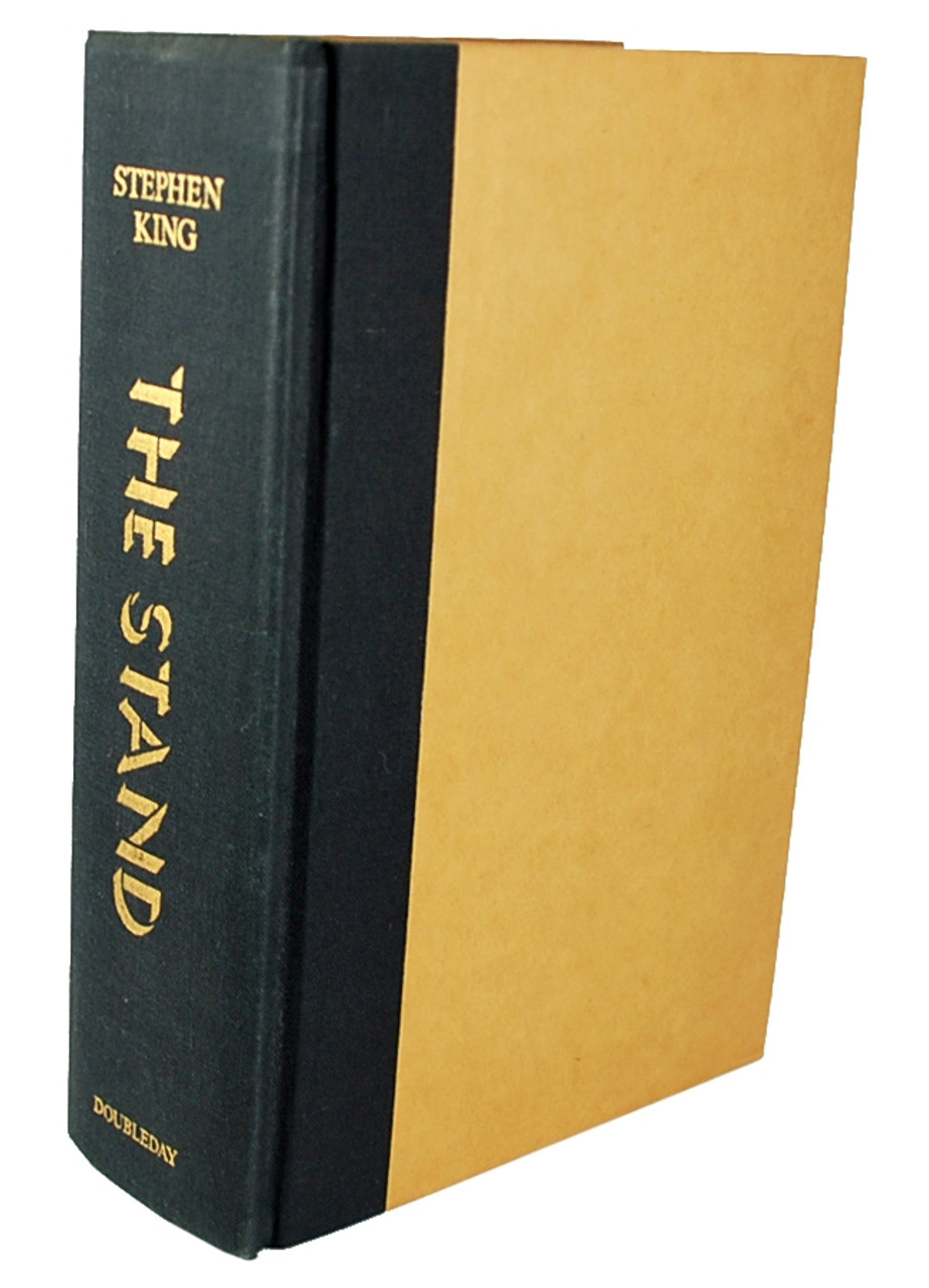 "Stephen King ""The Stand"" dj/HC, Signed & Inscribed, 1st/1st Fine/Fine"