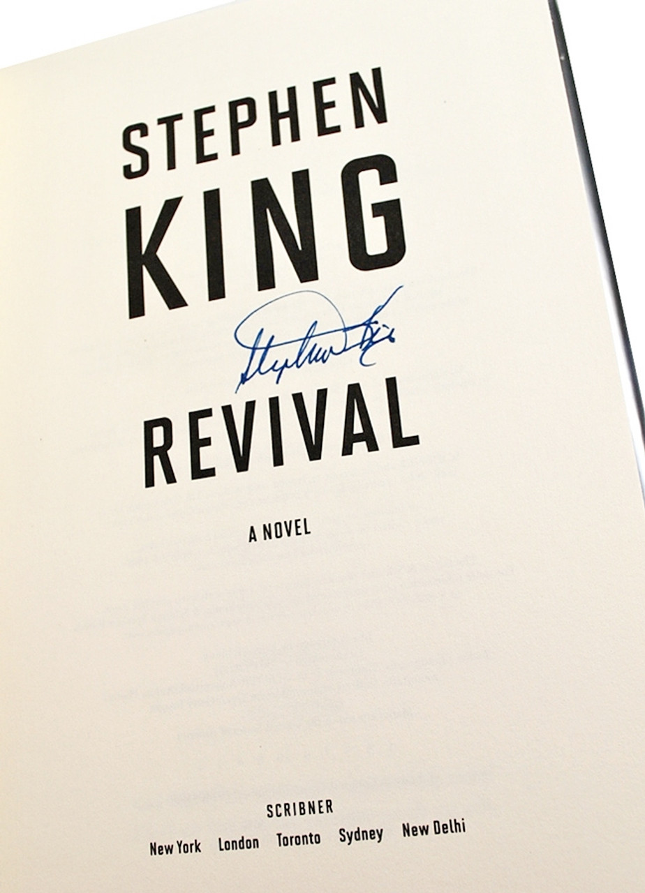 "Scribner ""REVIVAL"" Stephen King, Signed First Edition, First Printing, dj/HC [Very Fine/Very Fine]"