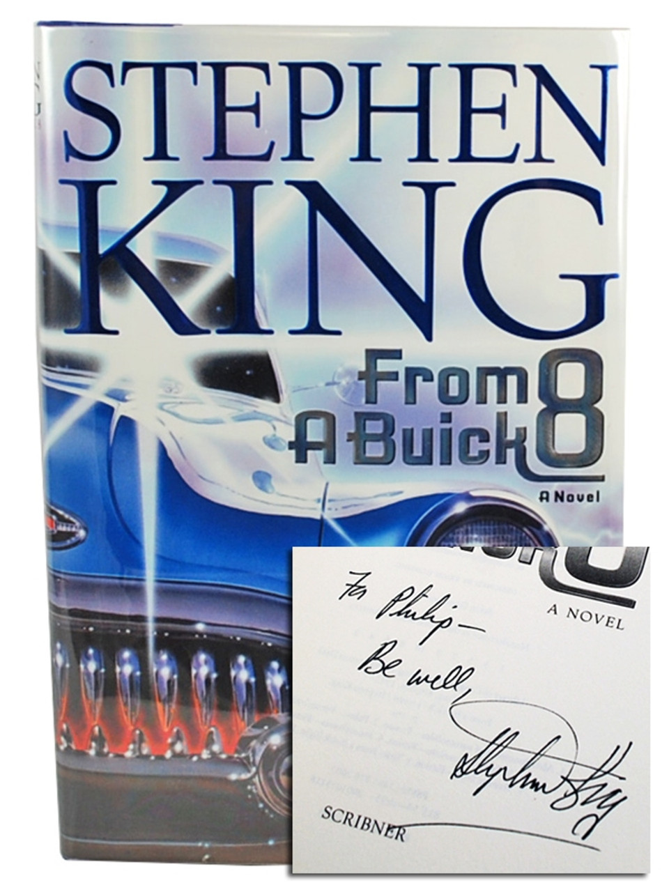 """Stephen King """"From a Buick 8"""" Signed First Edition"""