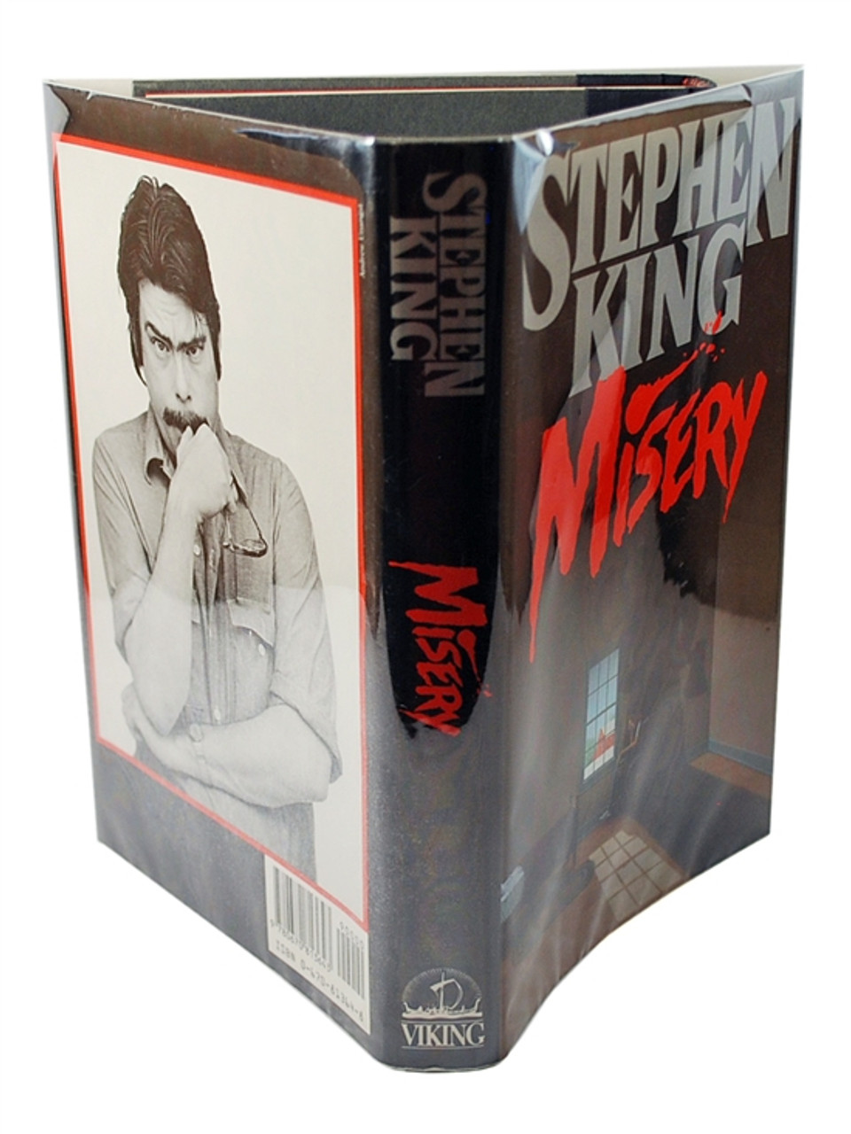 "Stephen King ""Misery"" Signed First Edition - First Printing, Fine/Fine ""from your #1 fan"""