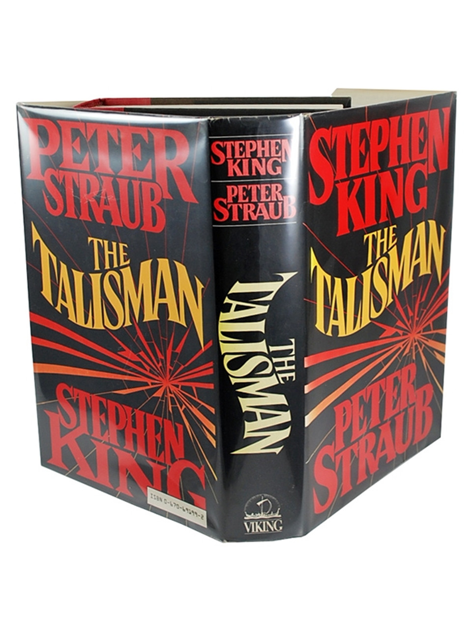 """Stephen King, Peter Straub """"The Talisman"""" Double Signed First Edition"""