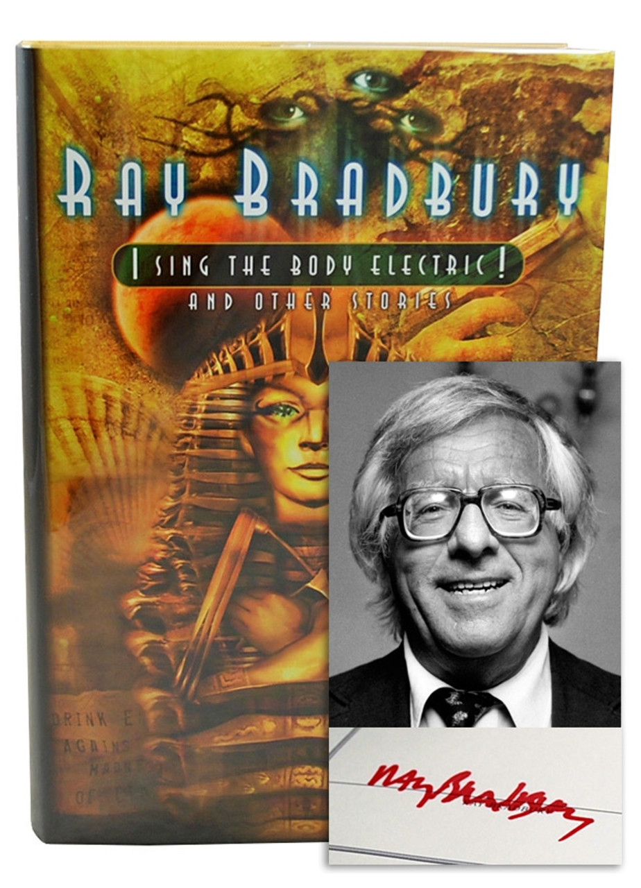 """Ray Bradbury """"I Sing the Body Electric"""" Signed Limited Edition, 192 of 250, in slipcase [Very Fine]"""