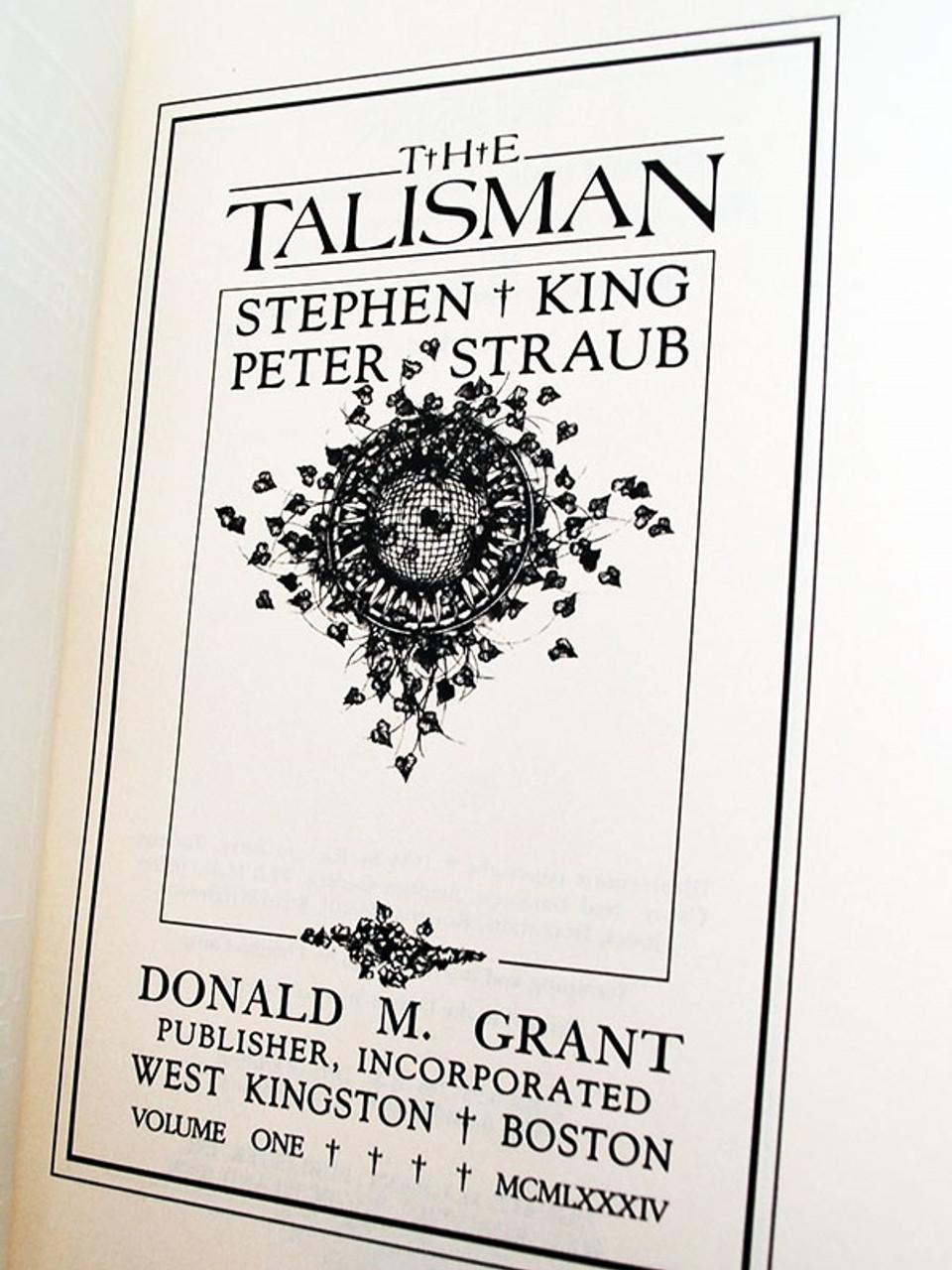Stephen King Talisman Signed Limited