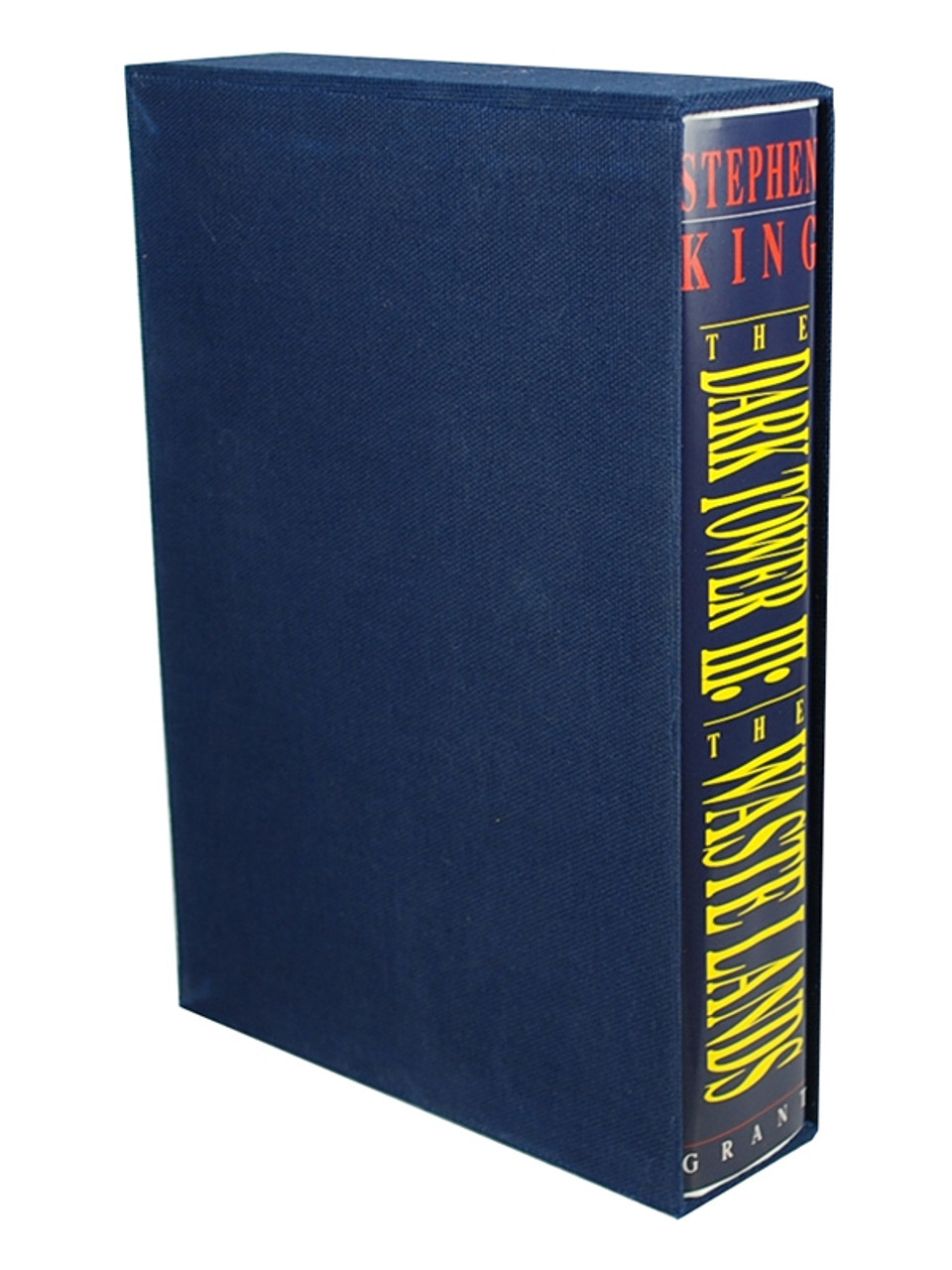 """Stephen King """"The Dark Tower 3 The Waste Lands """" Signed Limited Edition Slipcased #879 of 1,250"""