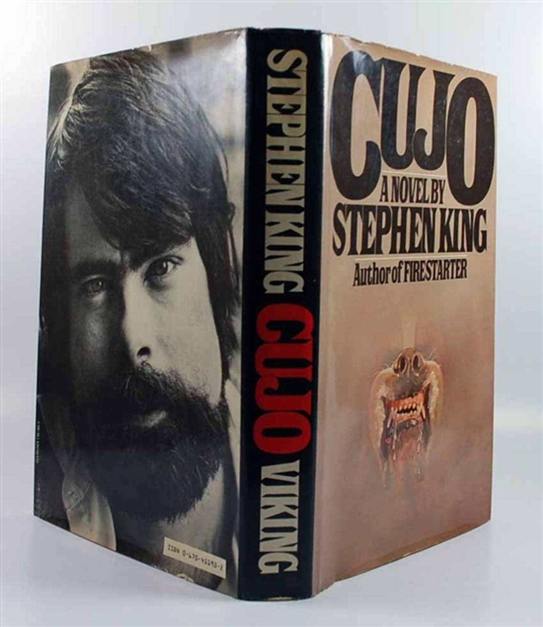 "Stephen King ""Cujo"" Signed First Edition (Year of Publication) dj/HC, Near Fine"