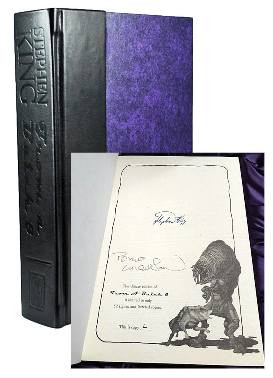 "Stephen King ""From a Buick 8"" Signed Deluxe Lettered Edition ""F"" of only 52"