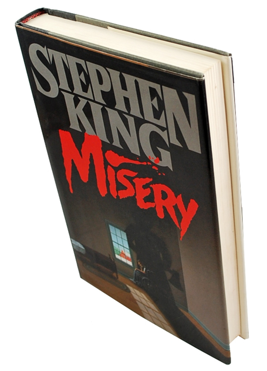 "Stephen King ""Misery"" Autographed Book Club Edition (Fine/Fine)"