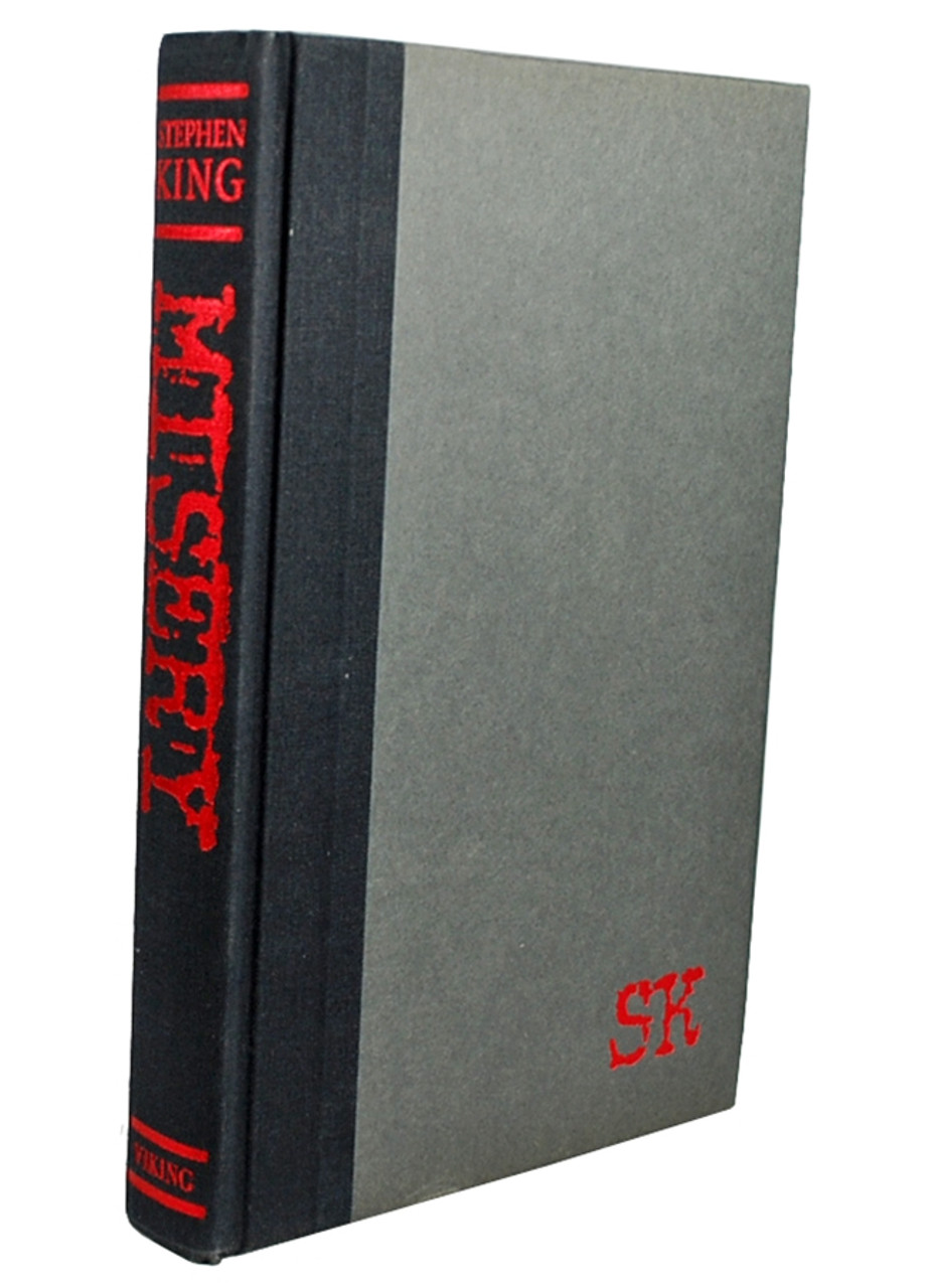 """Stephen King """"Misery"""" Autographed Book Club Edition (Fine/Fine)"""
