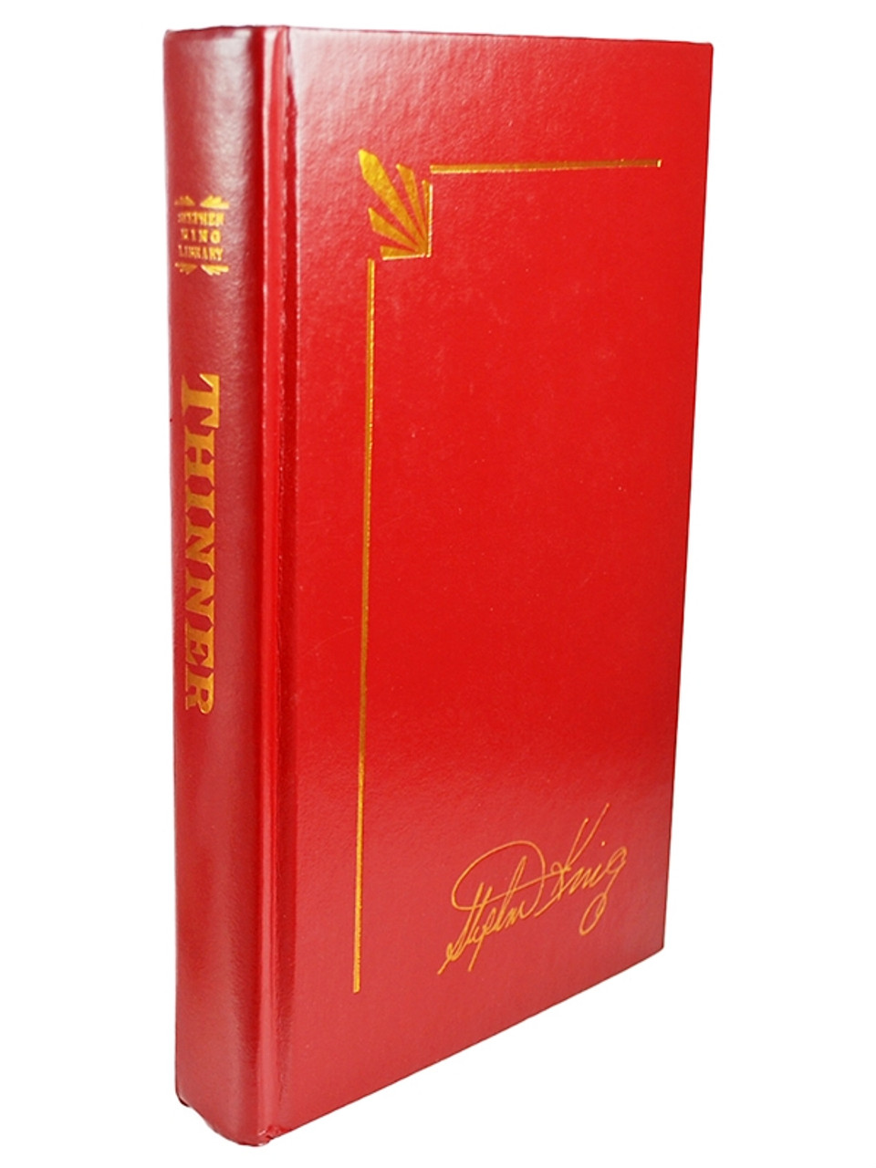 """Stephen King """"The Red Leather Library"""" Collection, Complete Matching Set 37 Volumes"""