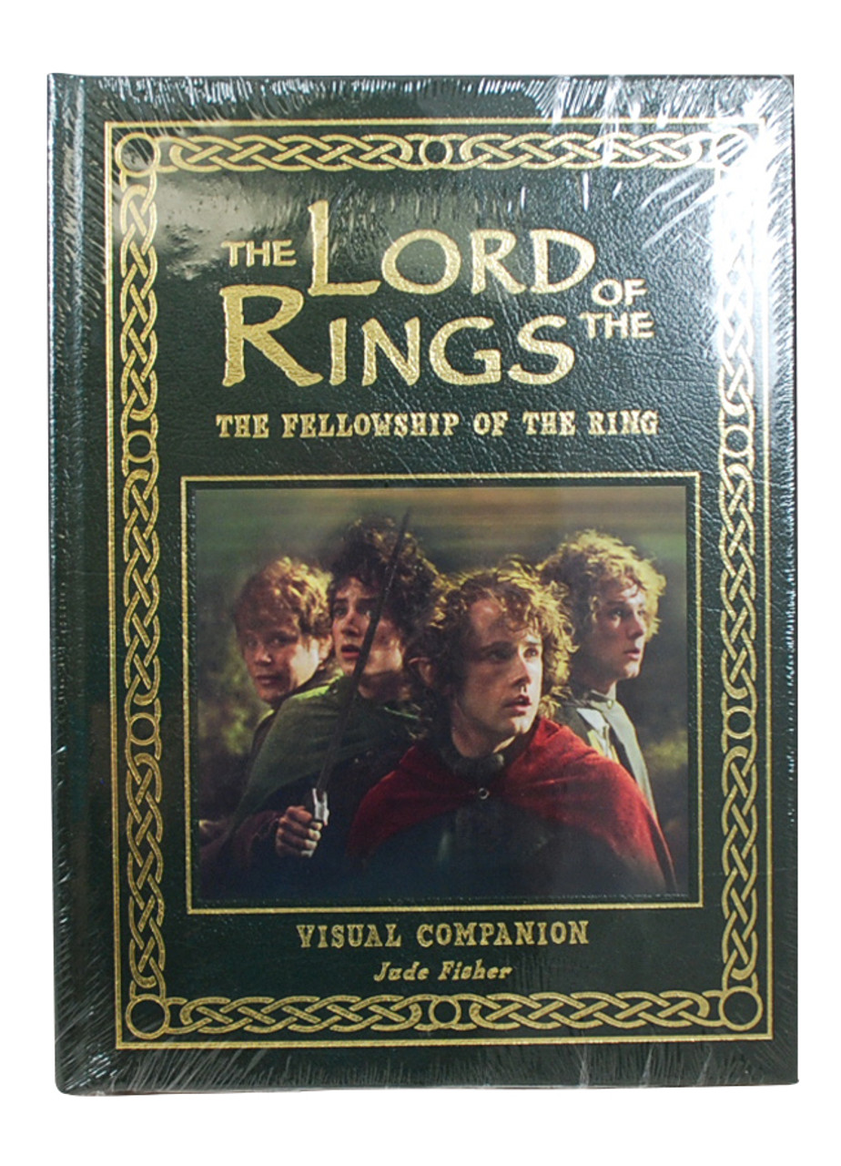 front-side image of book cover of the fellowship of the rings