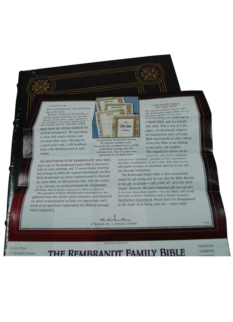 The rembrandt family bible