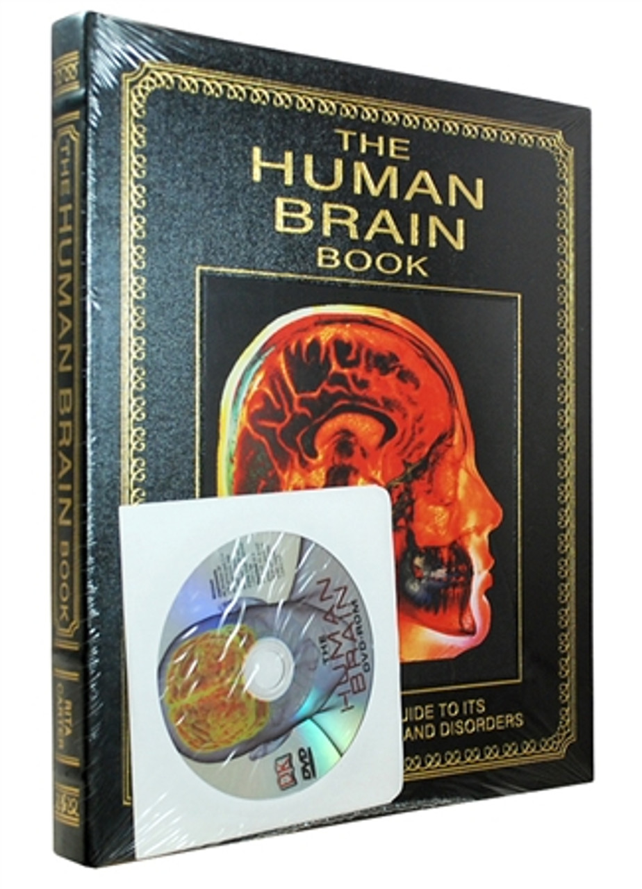 """Easton Press """"The Human Brain Book"""" Rita Carter, Deluxe Limited Leather Bound Collector's Edition w/DVD [Sealed]"""