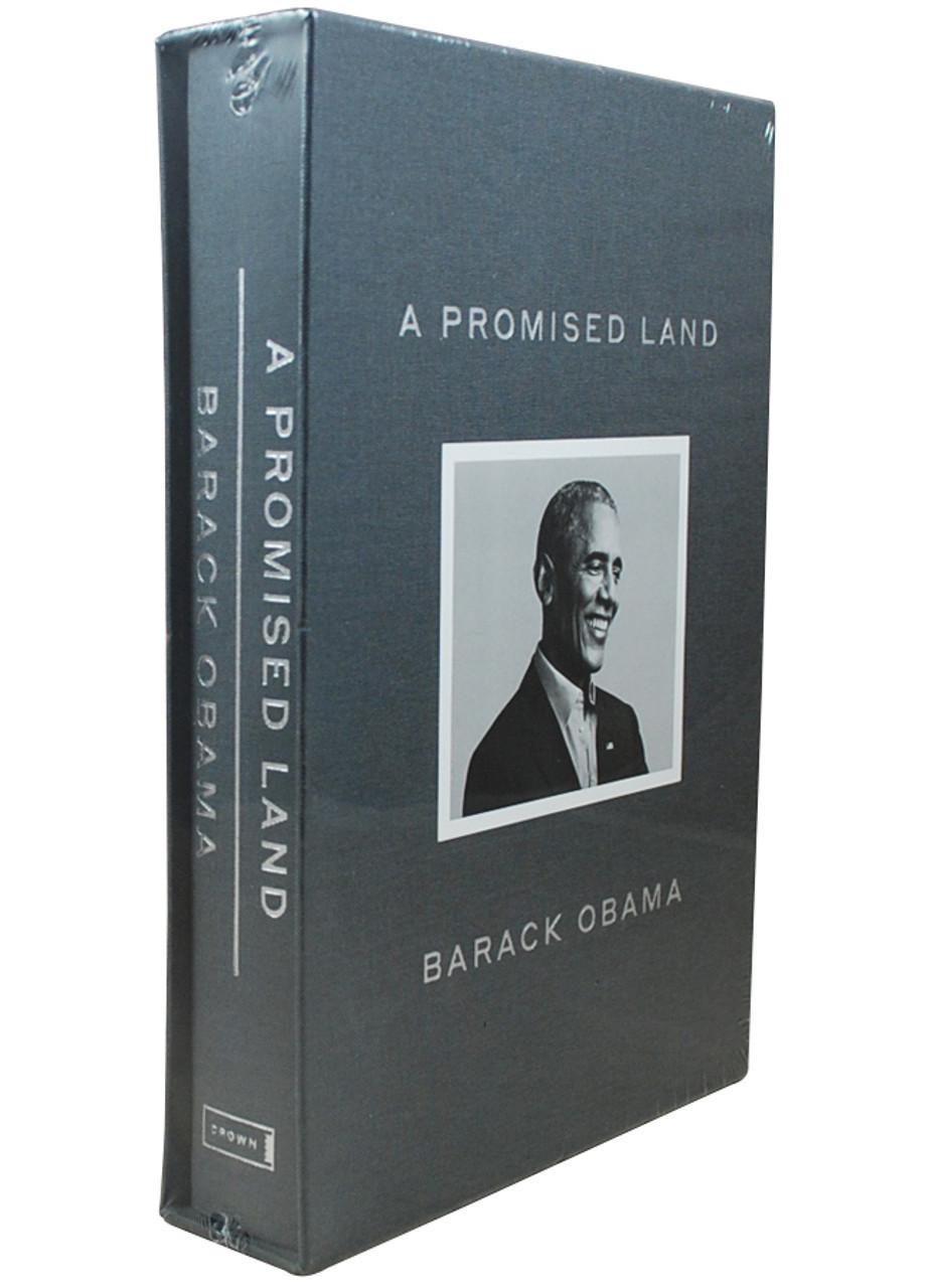 "Barack Obama ""A Promised Land"" Signed Deluxe Limited Edition, Slipcased [Sealed]"