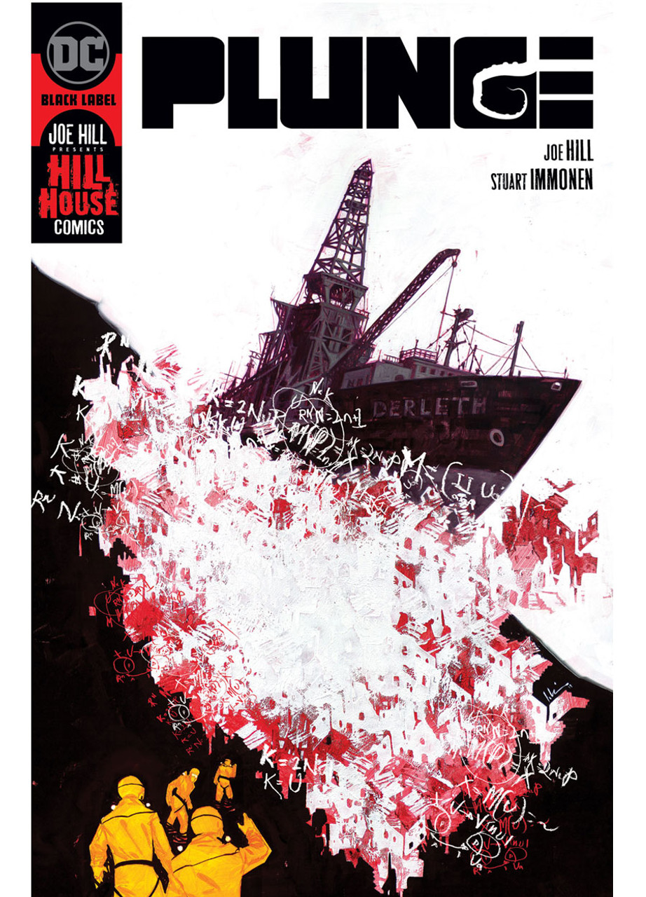 """Joe Hill, Stuart Immonen """"PLUNGE"""" Slipcased Signed Collector's  Edition w/COA, Inscribed To You By Joe Hill  [Very Fine]"""