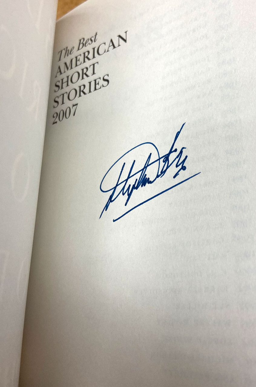 "Heidi Pitlor, Stephen King ""The Best American Short Stories"" Signed First Edition, First Printing, Slipcased w/COA [Very Fine]"