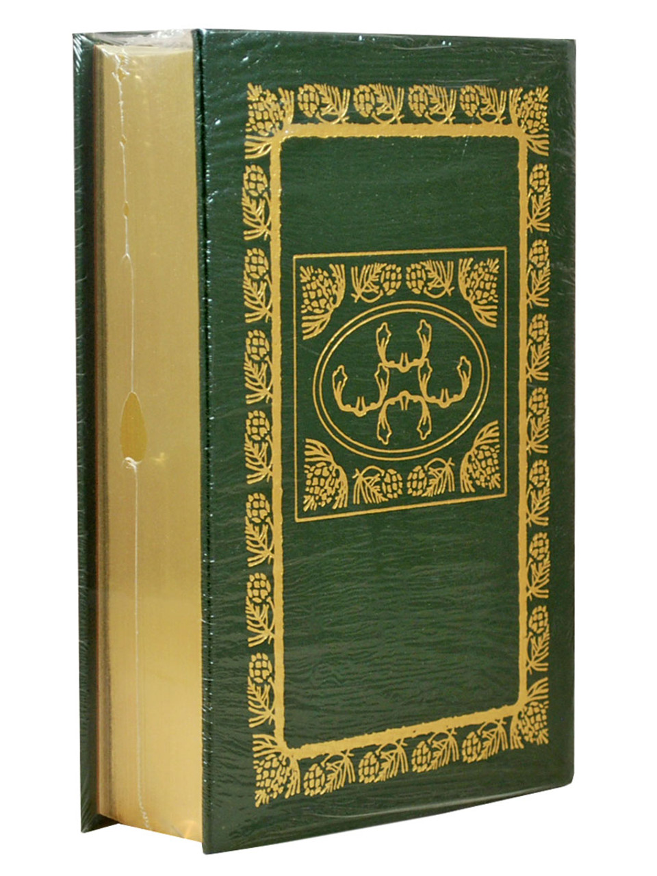 """Douglas Brinkley """"The Wilderness Warrior: Theodore Roosevelt and the Crusade for America"""" Signed First Edition, Leather Bound Collector's Edition w/COA [Sealed]"""