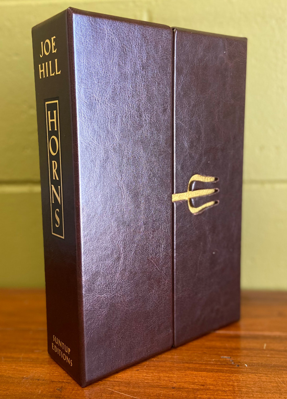 """Joe Hill """"Horns"""" Signed Limited Edition No. 90  of 250 w/Limited Promotional Art Kit [Very Fine]"""
