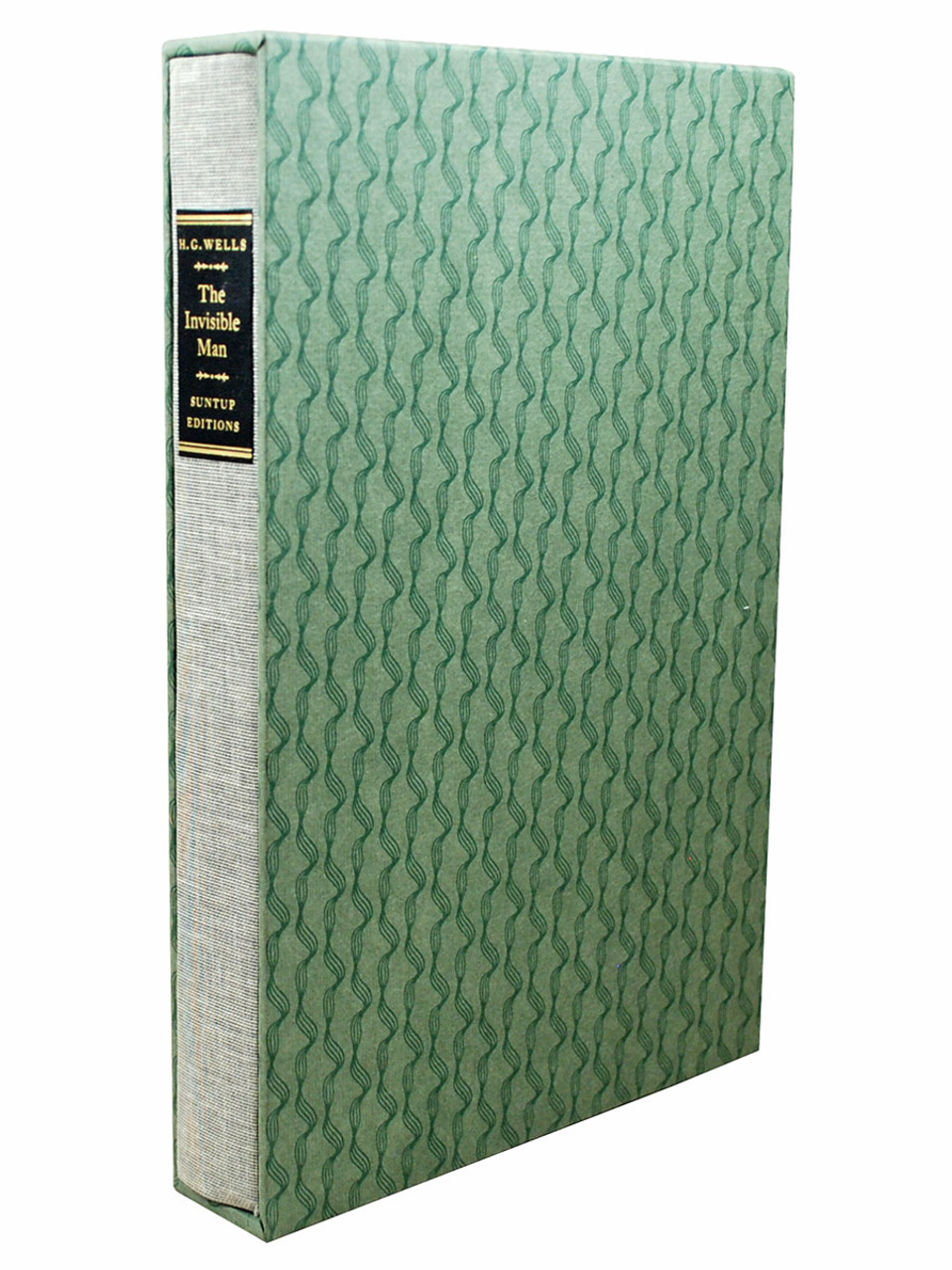 """Suntup Editions - The H.G. Wells Trilogy """"The War of the Worlds"""" , """"The Time Machine"""", """"The Invisible Man"""" Signed Limited Edition, Matching Numbered Set No. 90 of 250  [Very Fine]"""