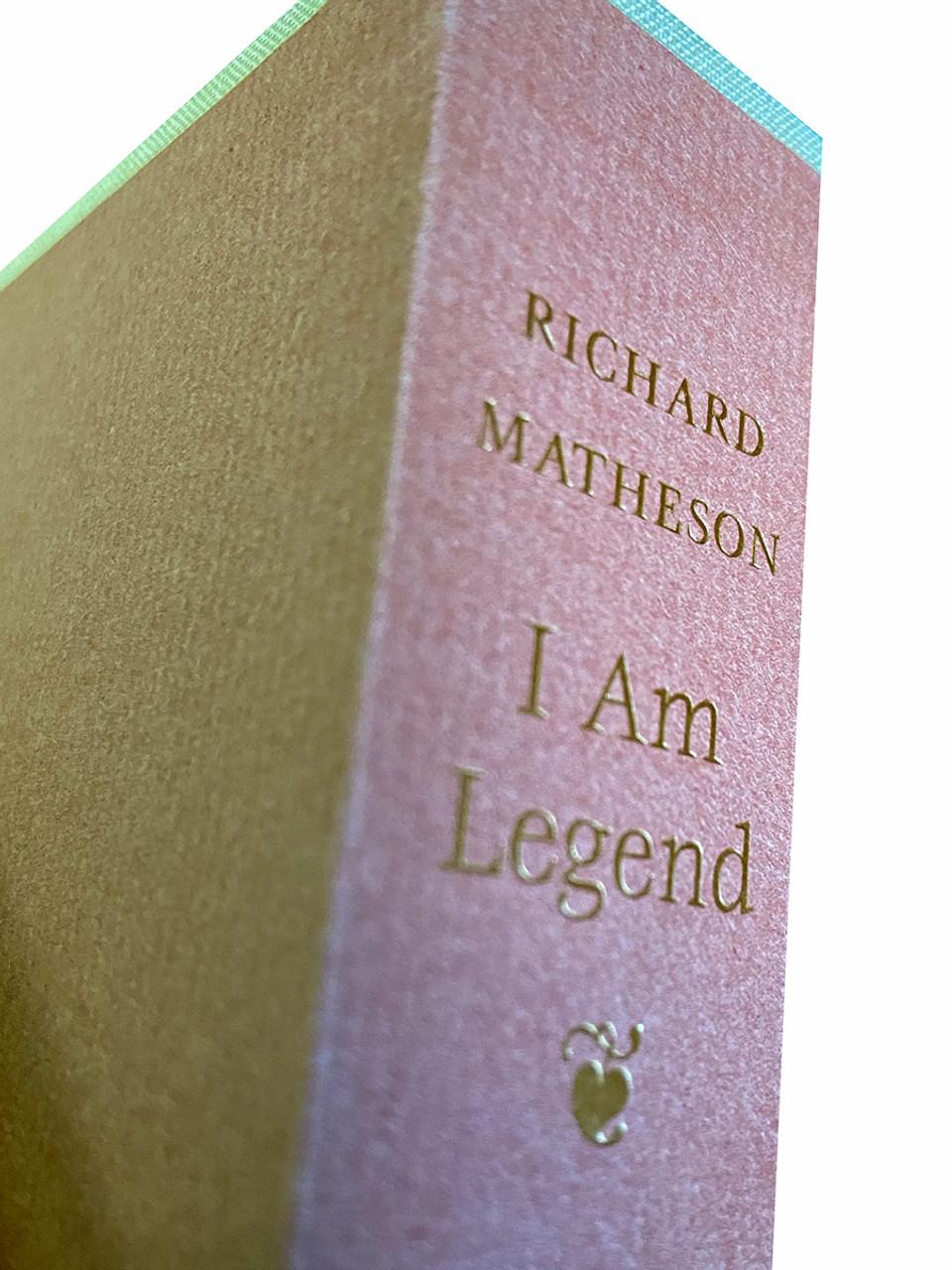 "Richard Matheson ""I Am Legend"" Signed Limited Edition No. 90 of 250 , Slipcased [Very Fine]"