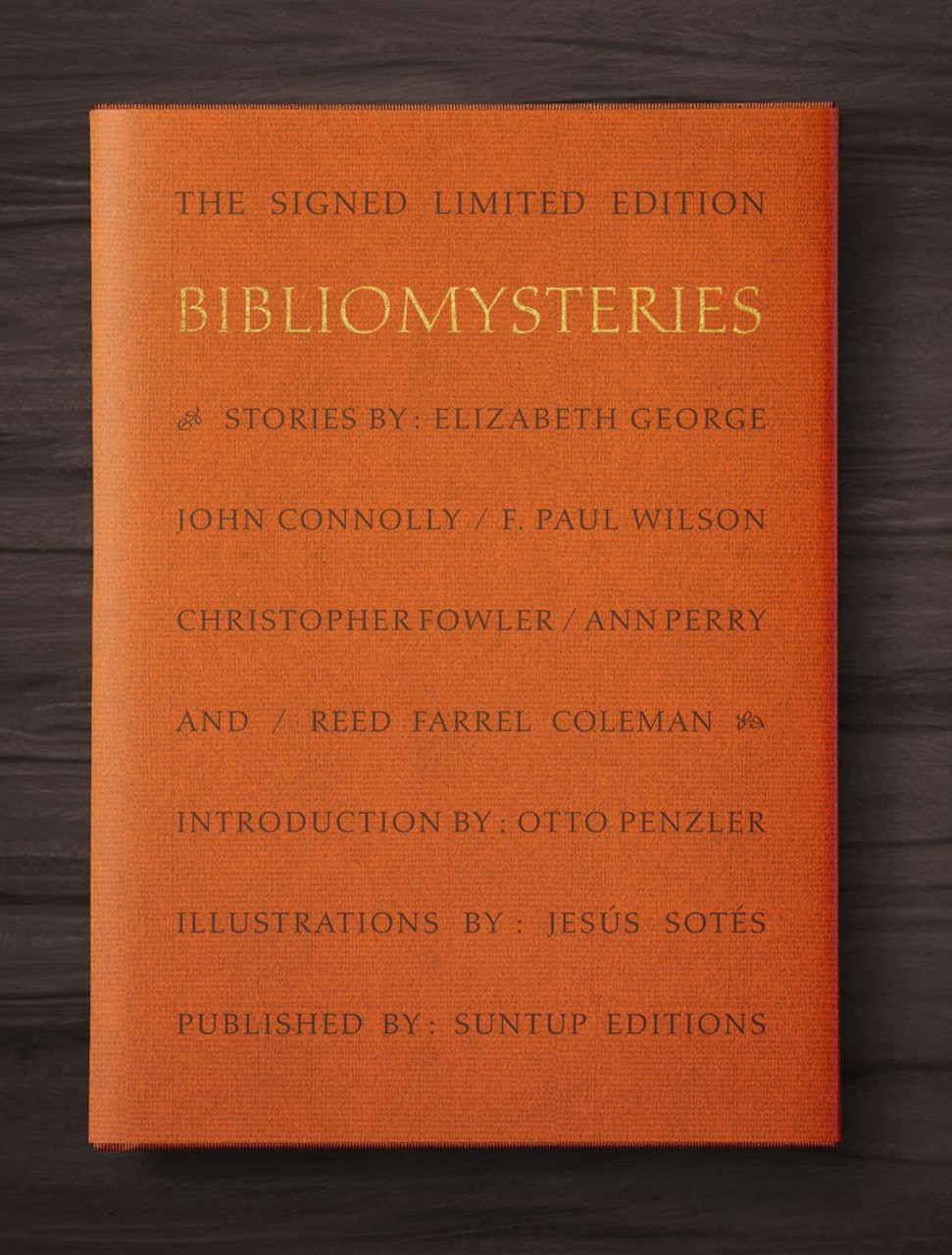 """""""Bibliomysteries"""" Signed Limited Edition Anthology No. 90 of 250, Tray-cased  [Very Fine]"""