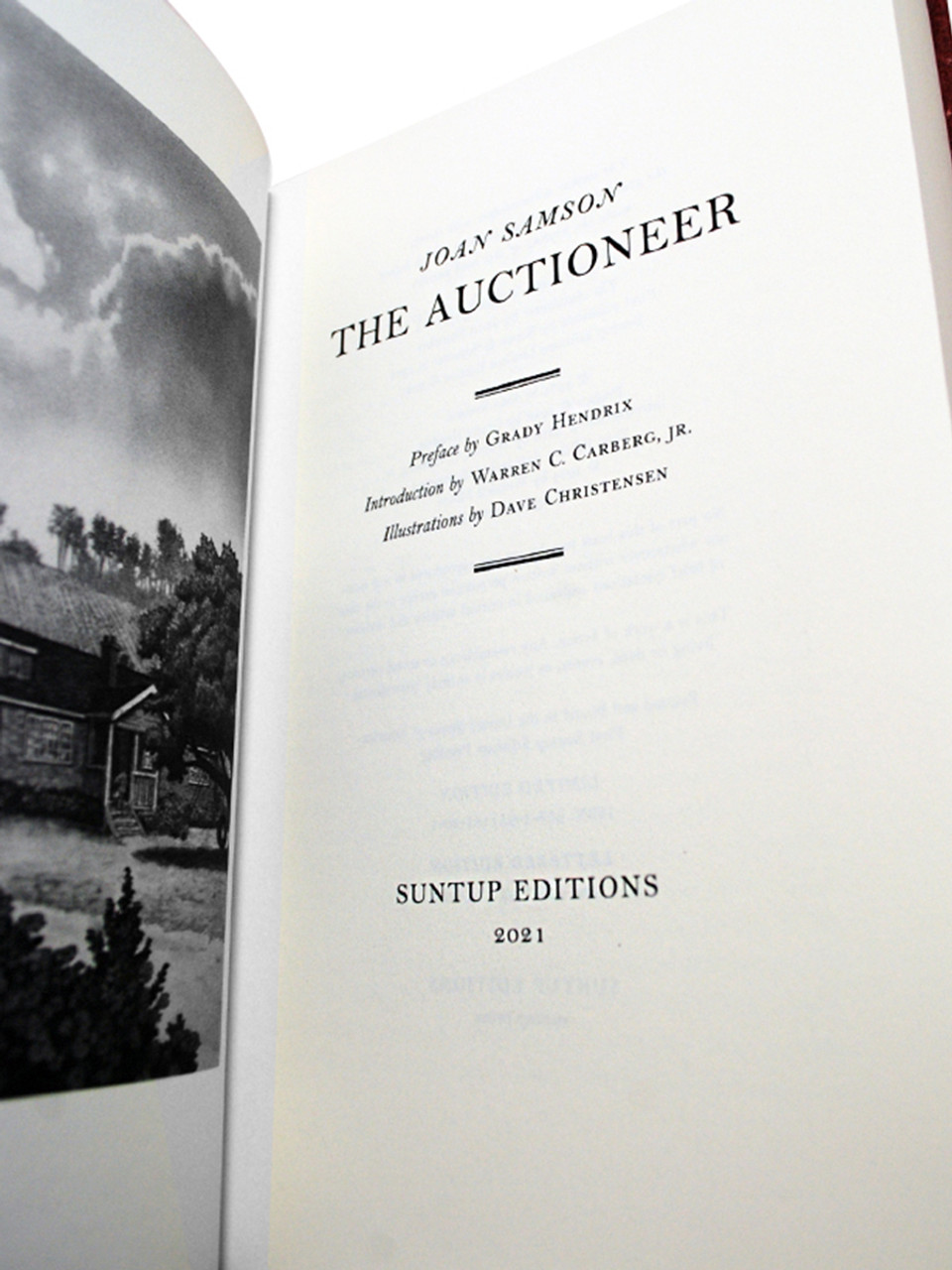 """Joan Samson """"The Auctioneer"""" Signed Limited Edition No. 90 of 250 , Slipcased [Very Fine]"""