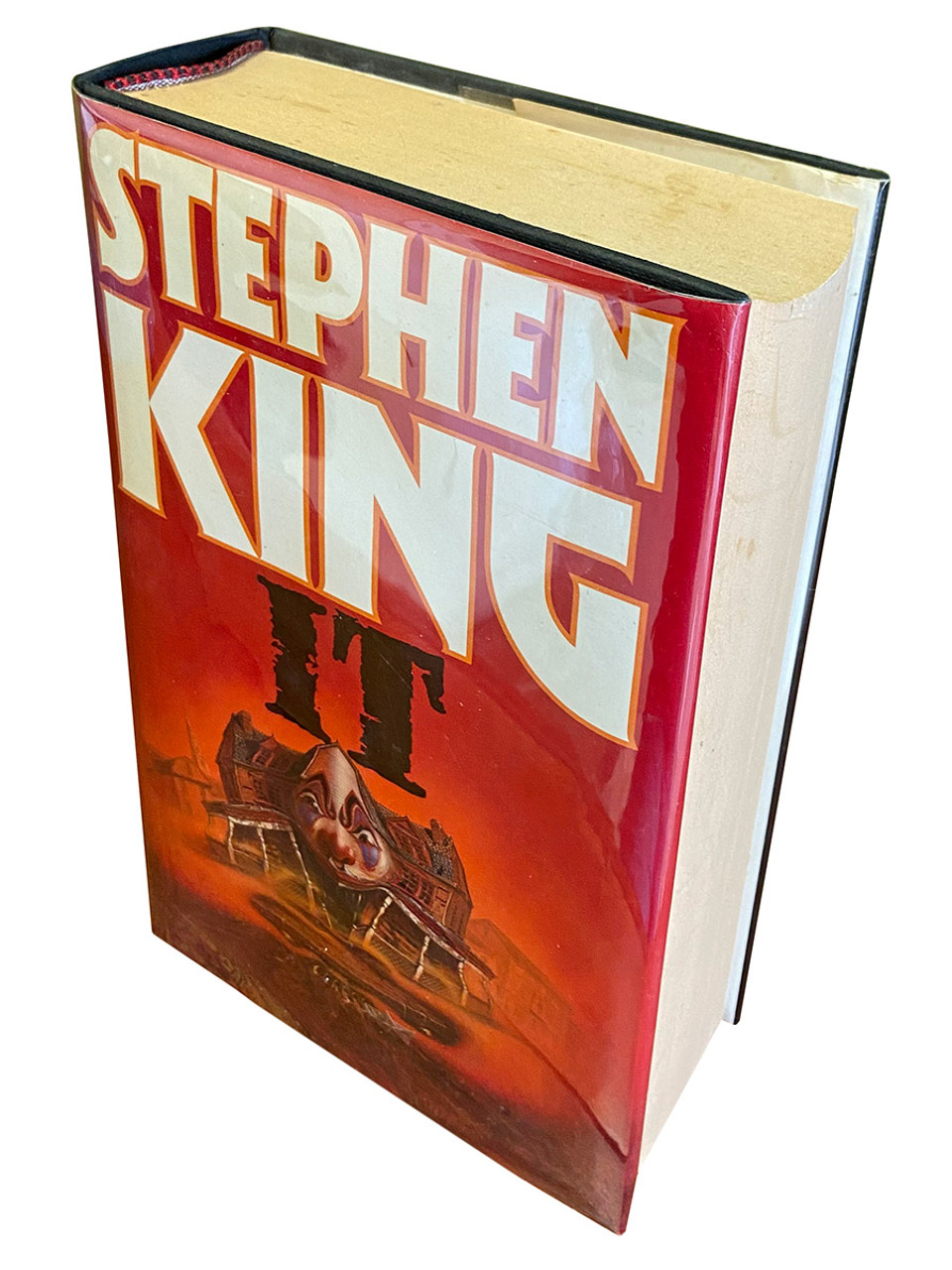 """Stephen King """"IT"""" UK First Edition, First Printing 1986 [NF/Fine]"""