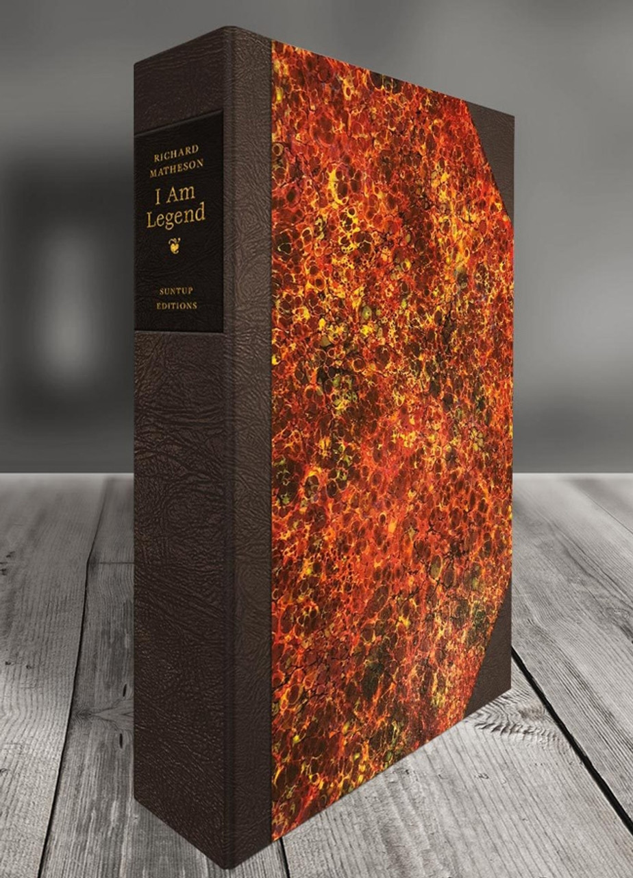 """Richard Matheson """"I Am Legend"""" Signed Lettered Edition of only 26, Leather Bound Collector's Edition [Very Fine]"""