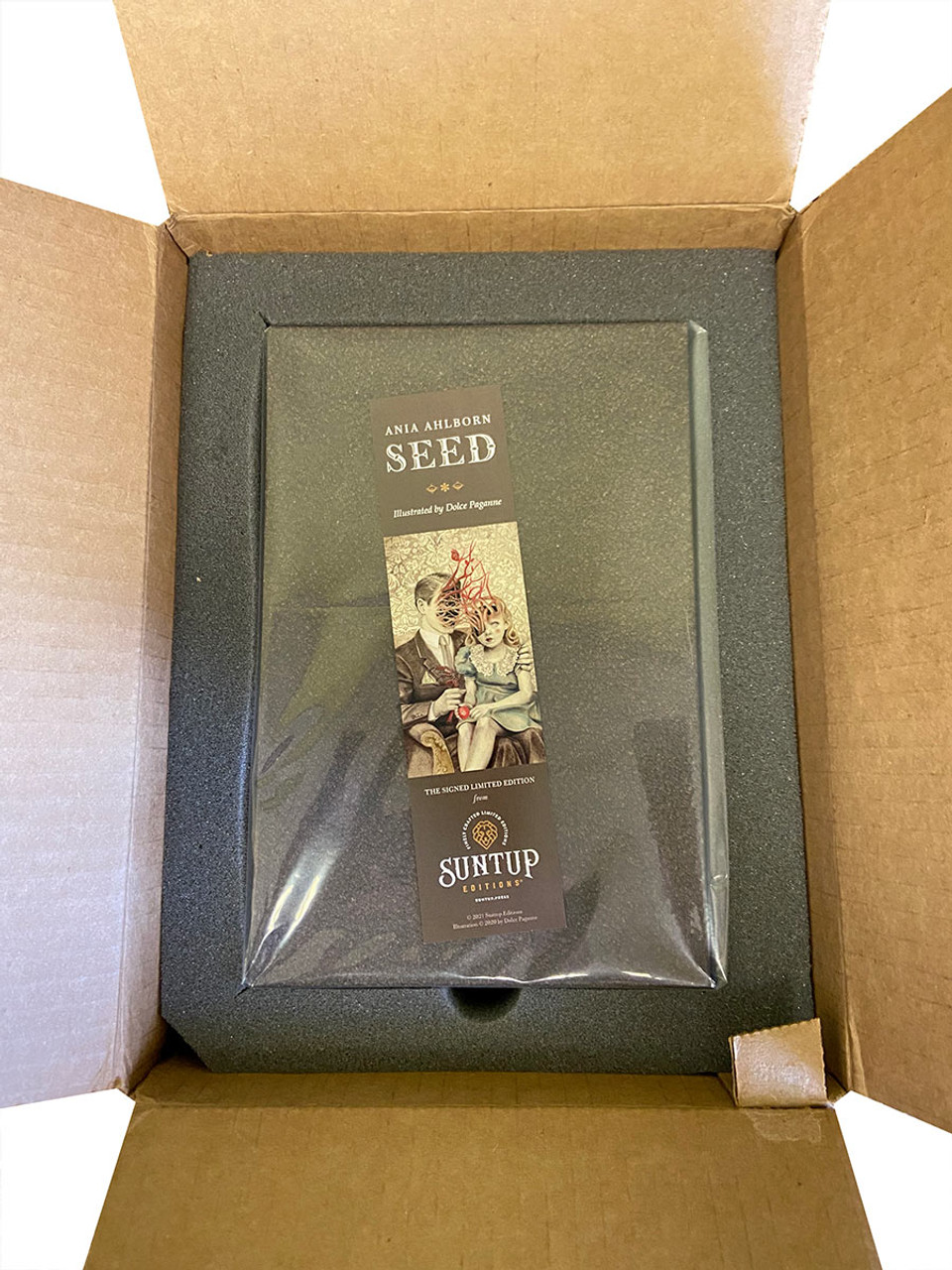 """Ania Ahlborn """"Seed"""" Signed Limited Edition No. 90 of 350, Slipcased [Very Fine]"""